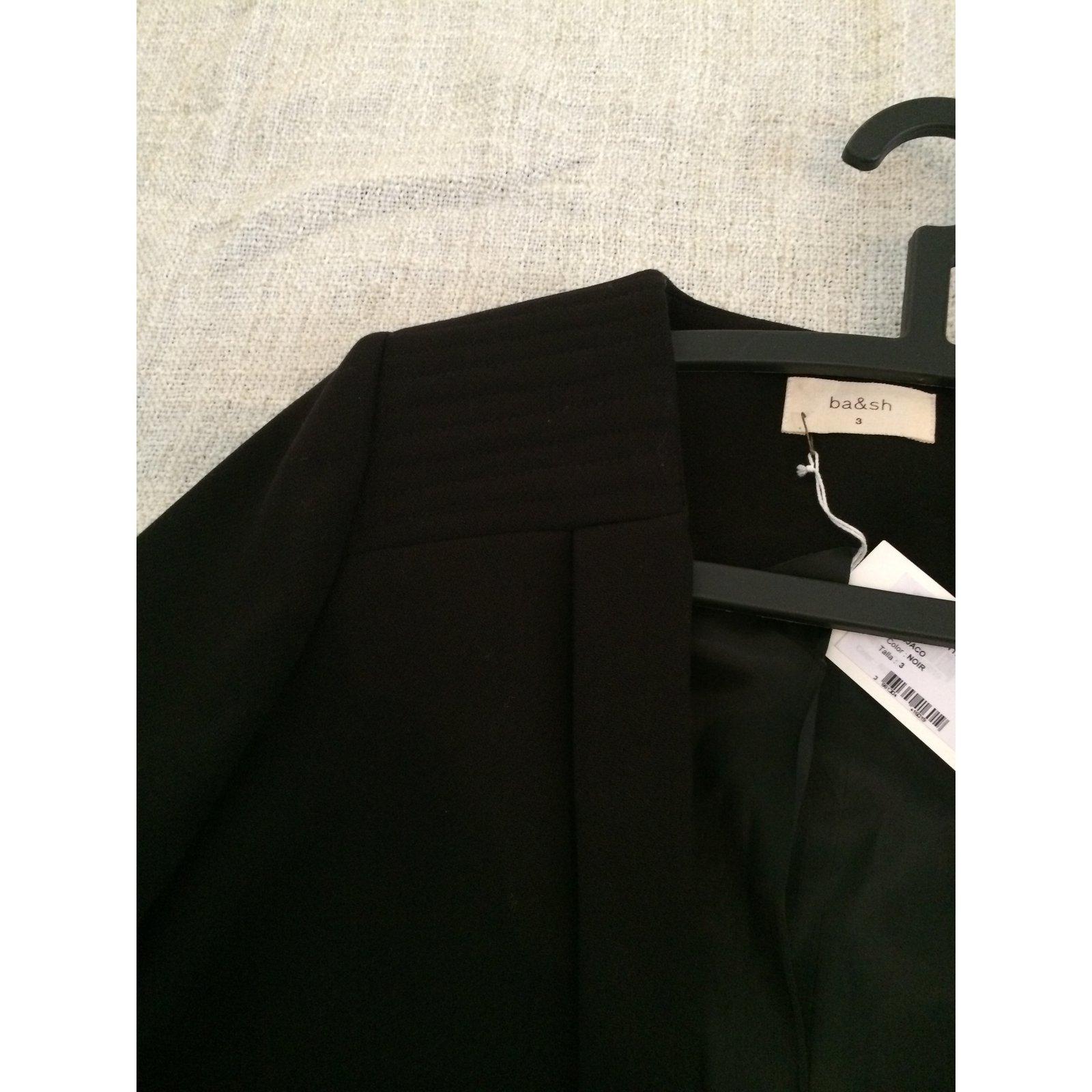 5339 Ref Noir Joli Vestes Bash Polyester Veste Jacotte Modèle aB0wFYUq