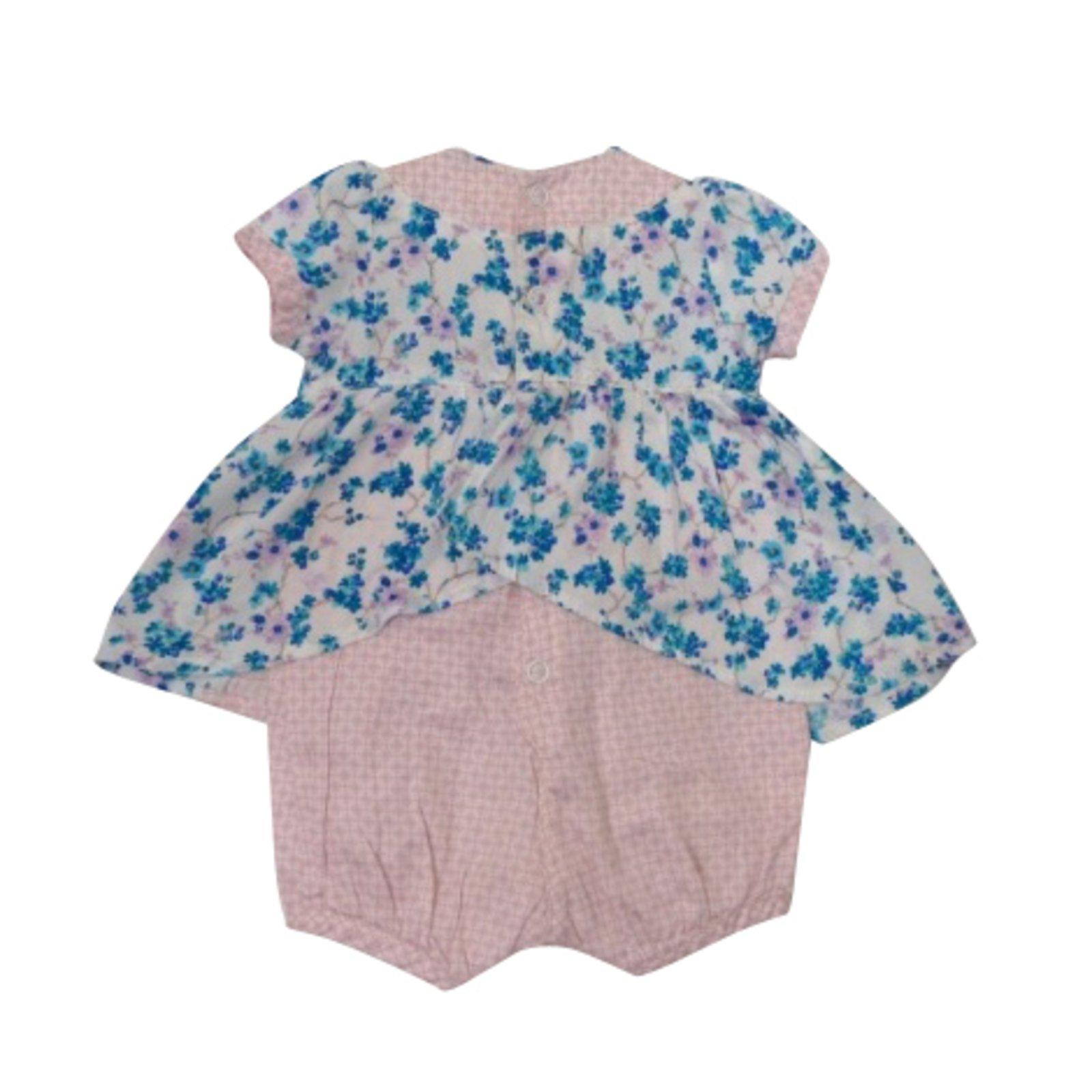 combinaisons kenzo combinaison short b b coton rose bleu joli closet. Black Bedroom Furniture Sets. Home Design Ideas