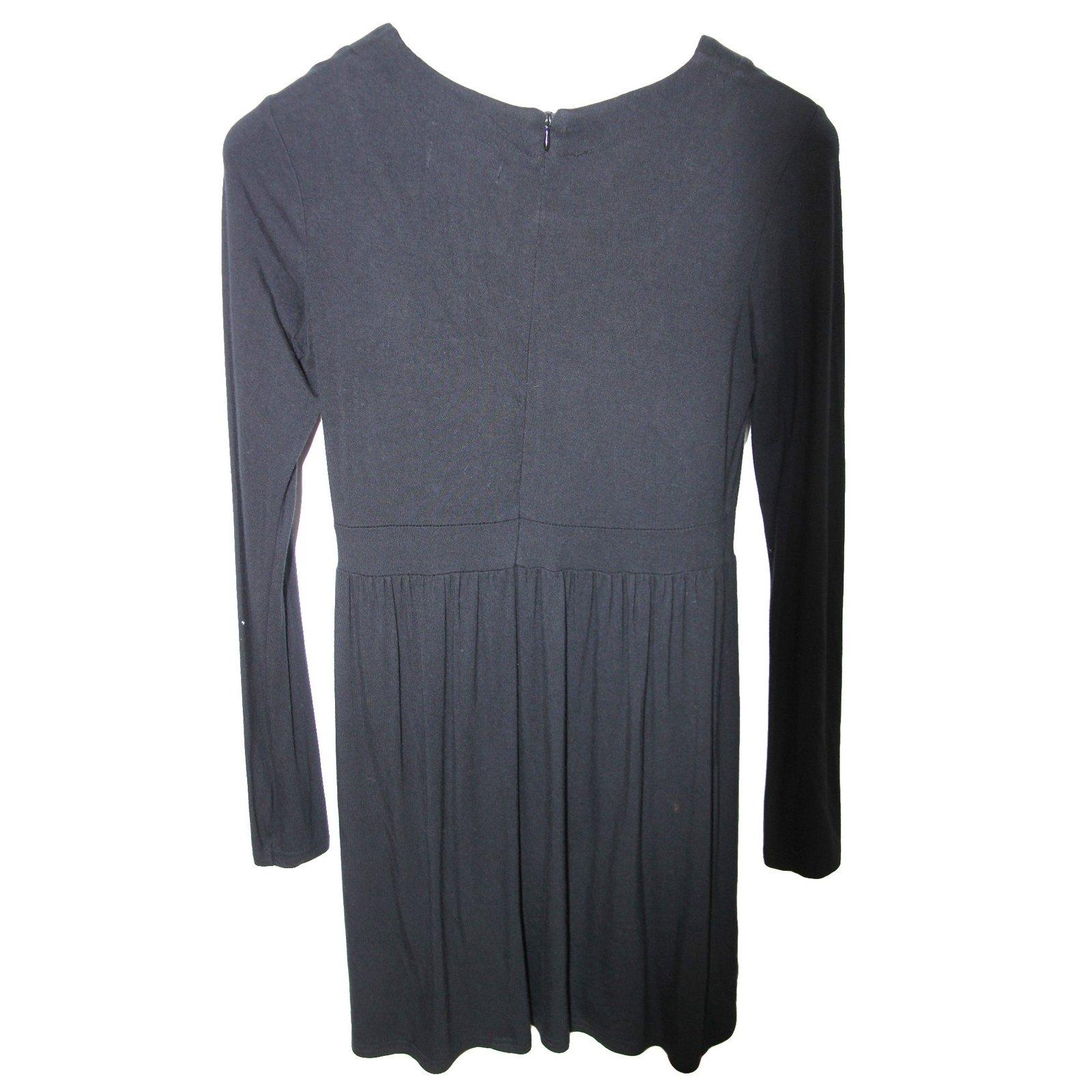 jupes fille guess robe viscose noir joli closet. Black Bedroom Furniture Sets. Home Design Ideas