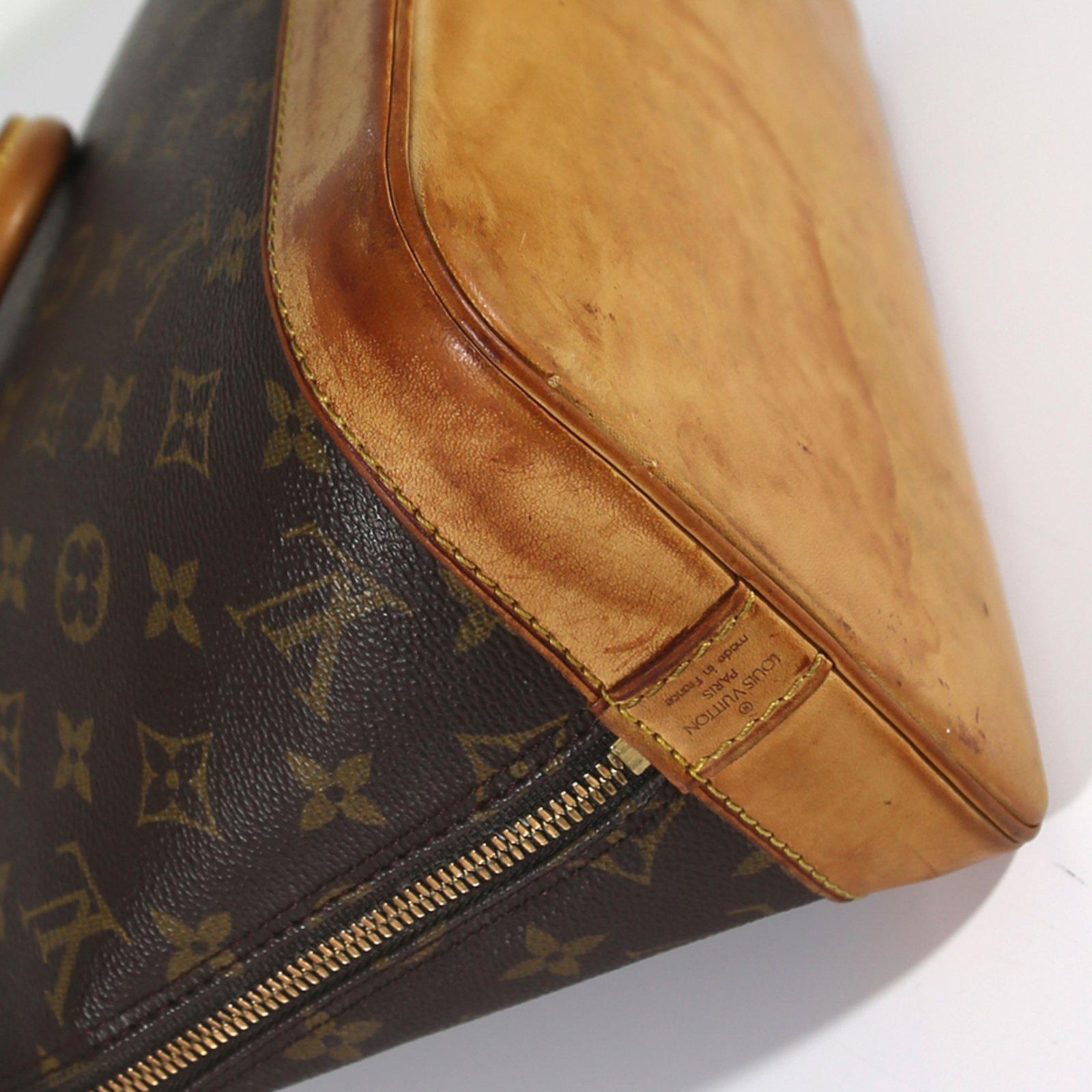 363e7c53b8 Sacs à main Louis Vuitton Alma PM Toile Marron ref.6831 - Joli Closet