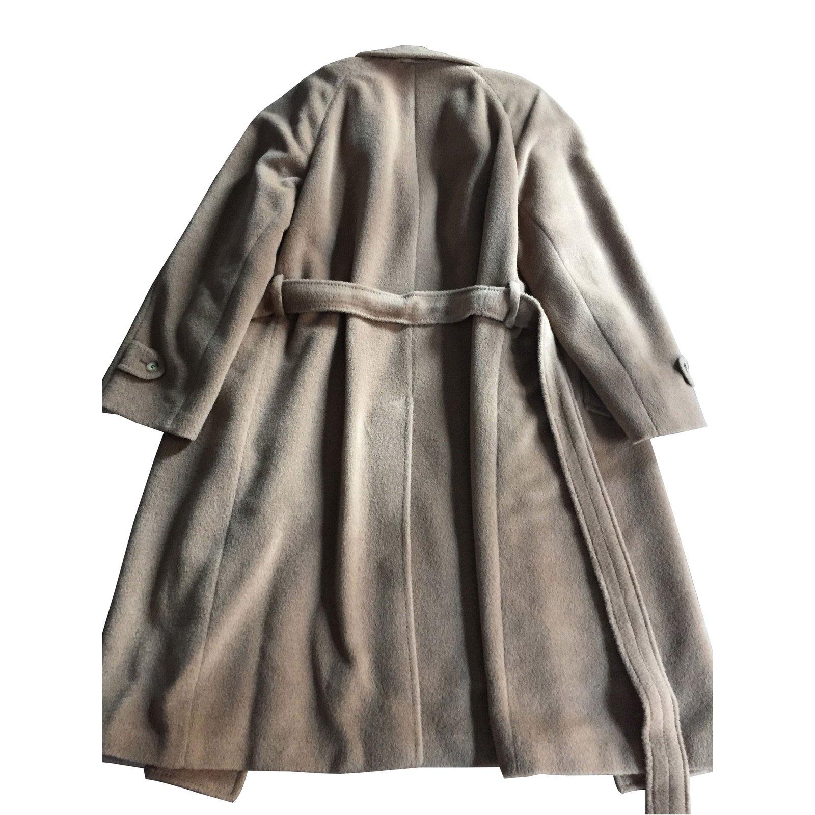 manteaux homme lanvin manteau camel en baby lama autre. Black Bedroom Furniture Sets. Home Design Ideas