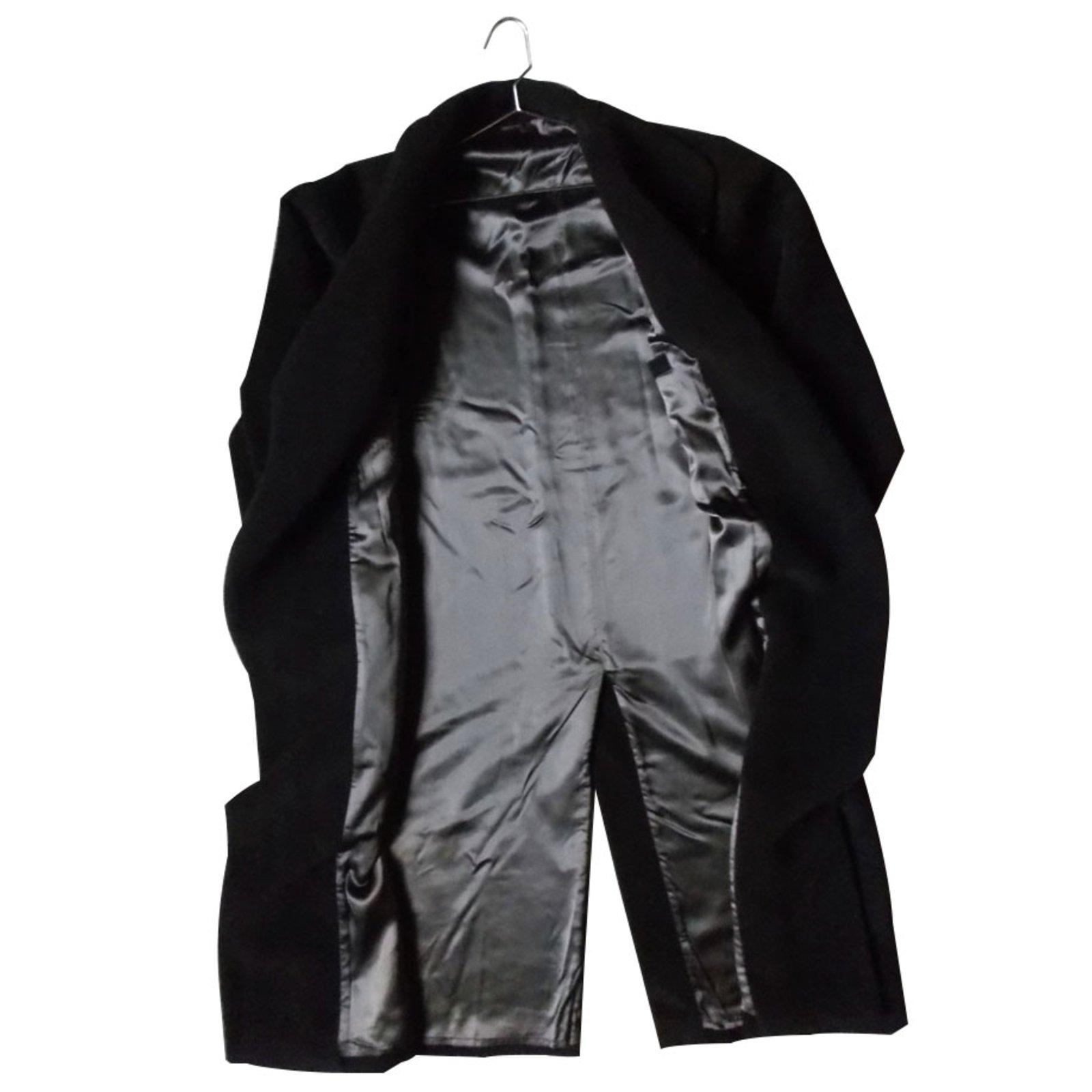 manteaux homme adolfo dominguez manteaux laine marron ref. Black Bedroom Furniture Sets. Home Design Ideas