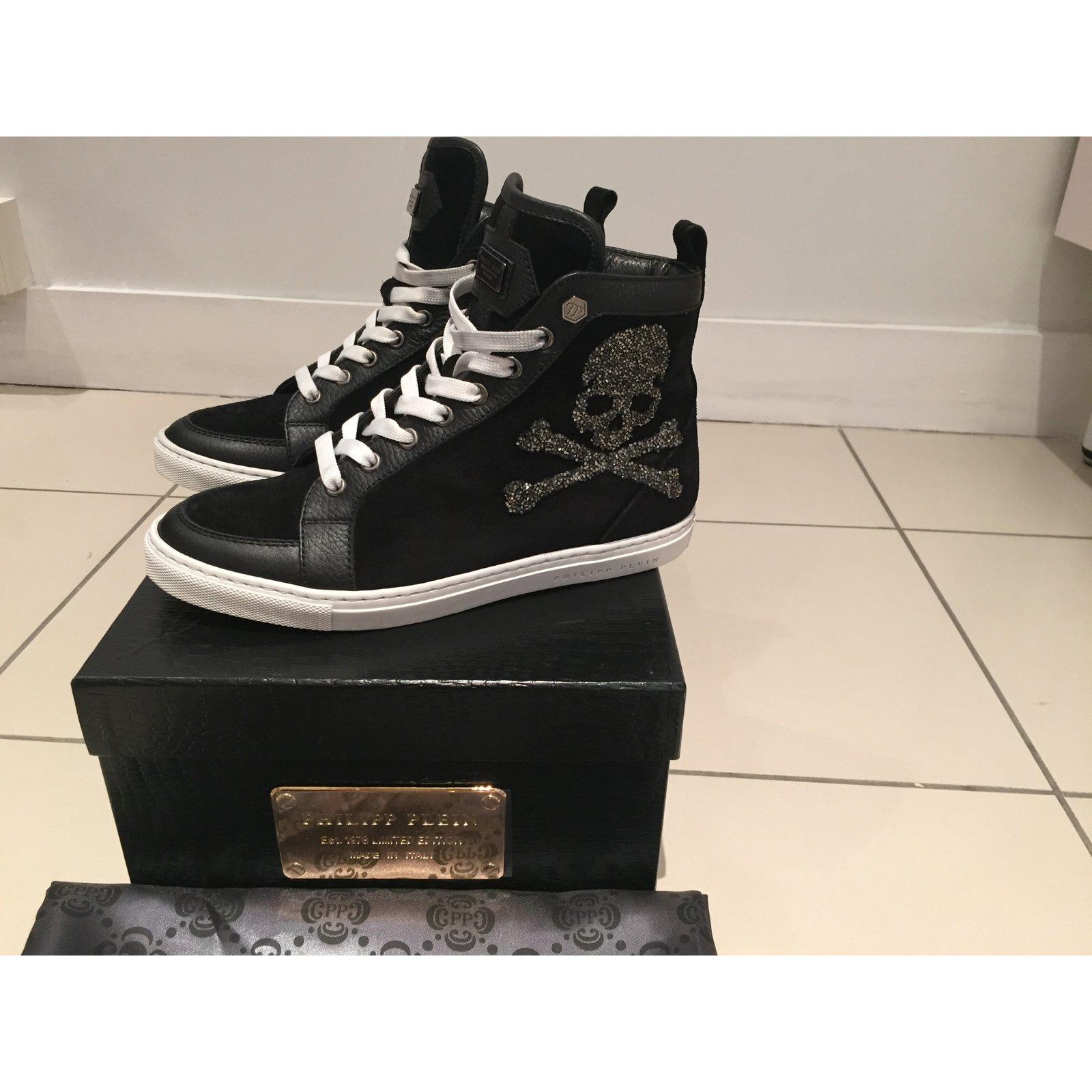 cf31697055 Philipp Plein Sneakers Sneakers Pony-style calfskin Black ref.8353 - Joli  Closet