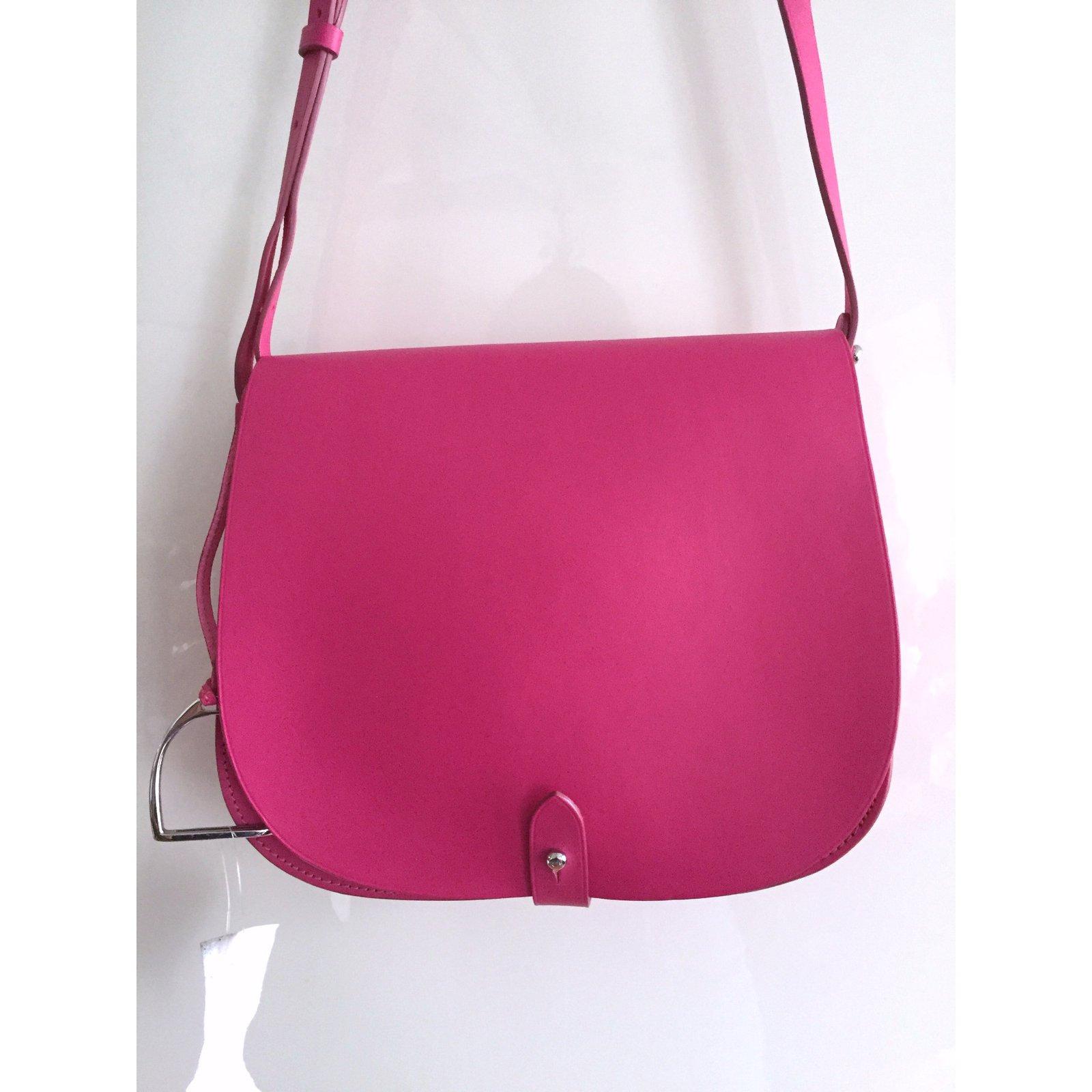 Ralph Lauren Collection Handbags Handbags Leather Pink ref.8398 - Joli  Closet 1de81babb1
