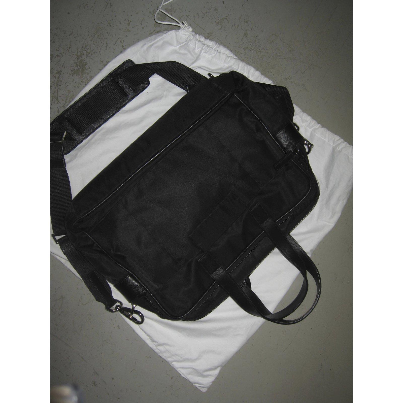 c398e49d453f Prada Bags Briefcases Bags Briefcases Other Black ref.8547 - Joli Closet