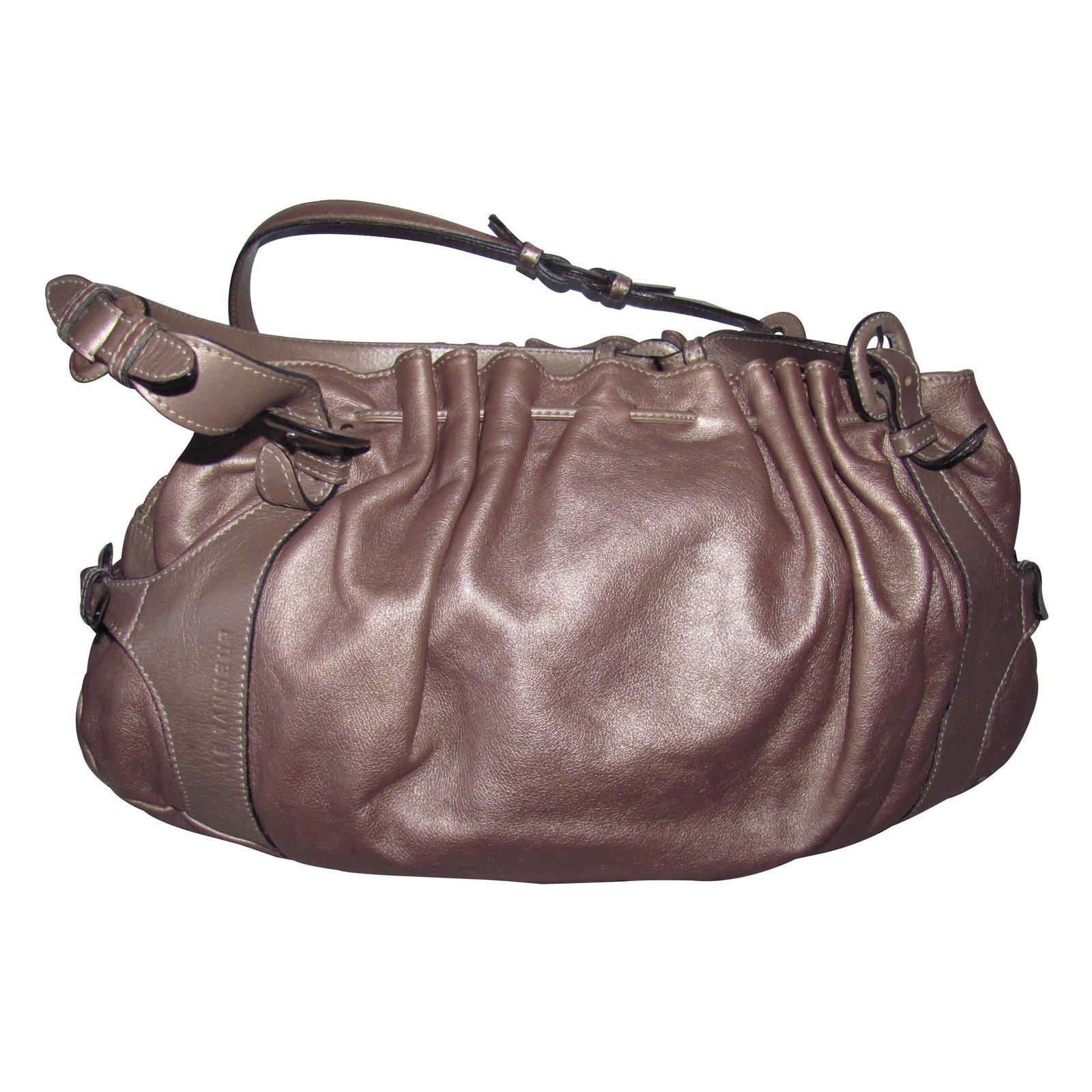 sacs main le tanneur matilde cuir bronze joli closet. Black Bedroom Furniture Sets. Home Design Ideas