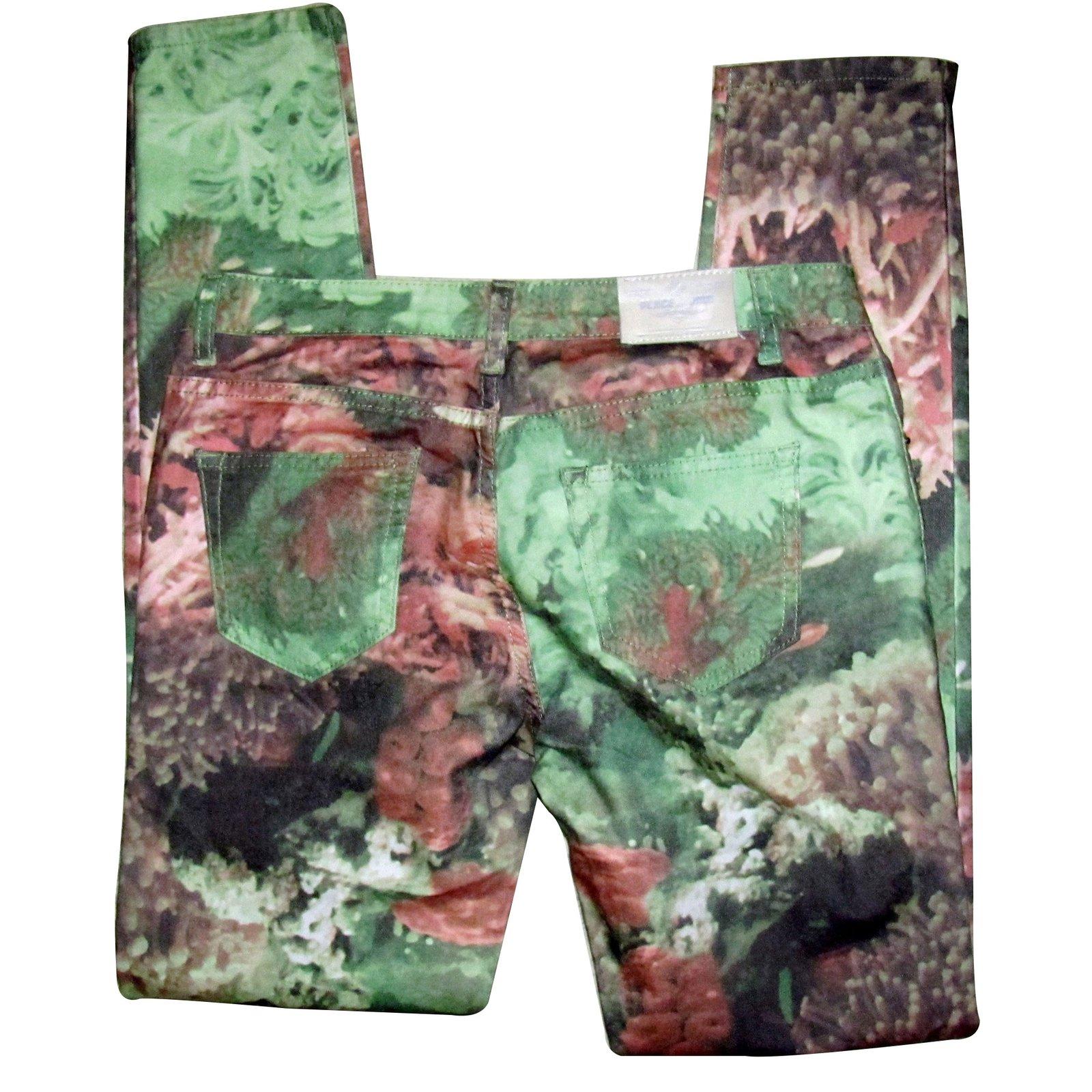 pantalons autre marque pantalon place du jour autre multicolore joli closet. Black Bedroom Furniture Sets. Home Design Ideas