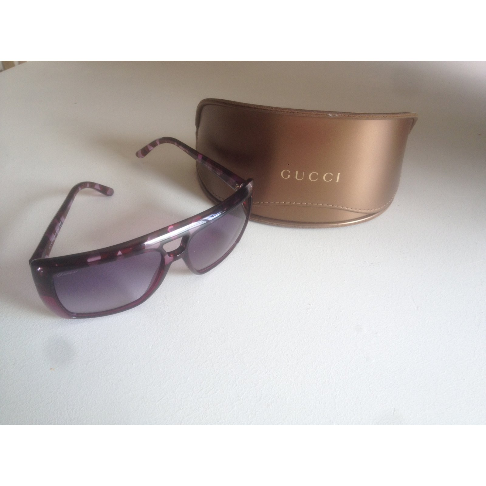 72b5044da36 Gucci Sunglasses Sunglasses Plastic Other ref.11212 - Joli Closet