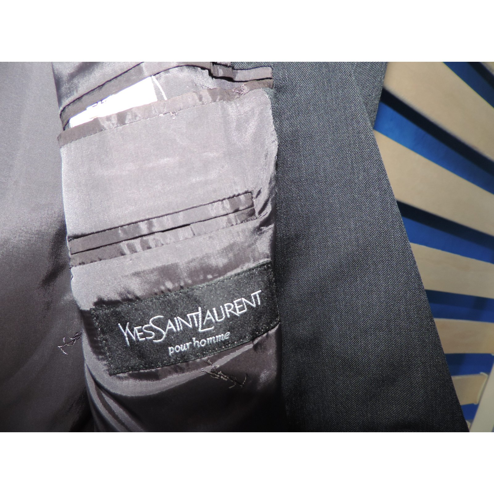 Laine Noir Ref Vestes 11742 Laurent Yves Saint Vestes Blousons zCq7AA