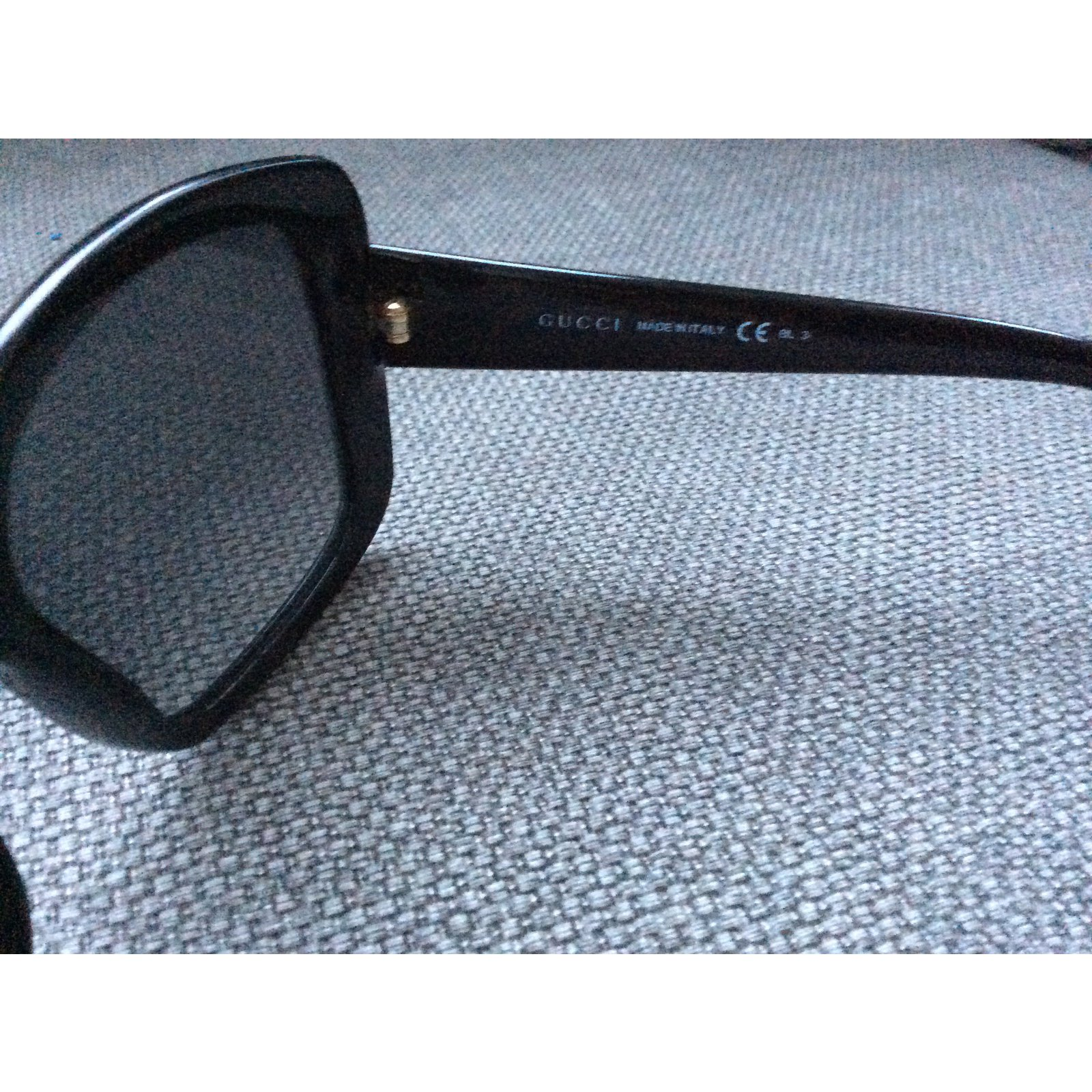3d015e488f4 Gucci Sunglasses Sunglasses Plastic Black ref.13820 - Joli Closet