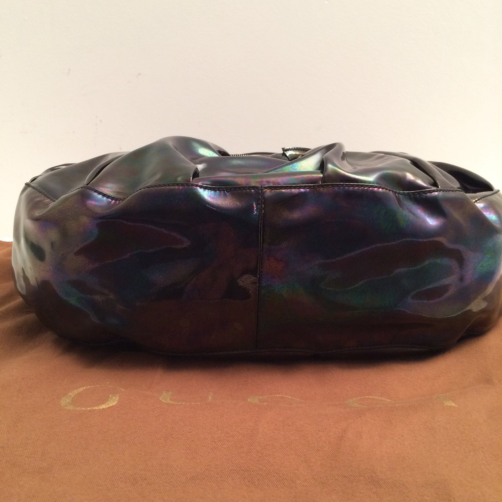 613721294ac3 Sacs à main Gucci Sac à main Cuir vernis Multicolore ref.15022 - Joli Closet