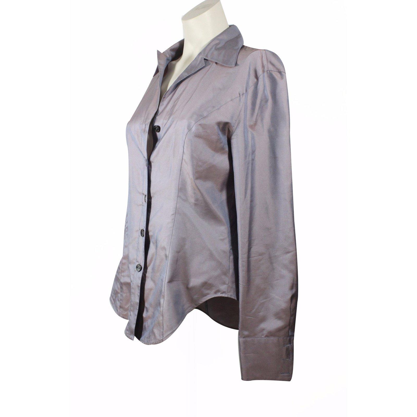 52ddf71808d114 Escada Silk Shirt Tops Silk Other ref.17317 - Joli Closet