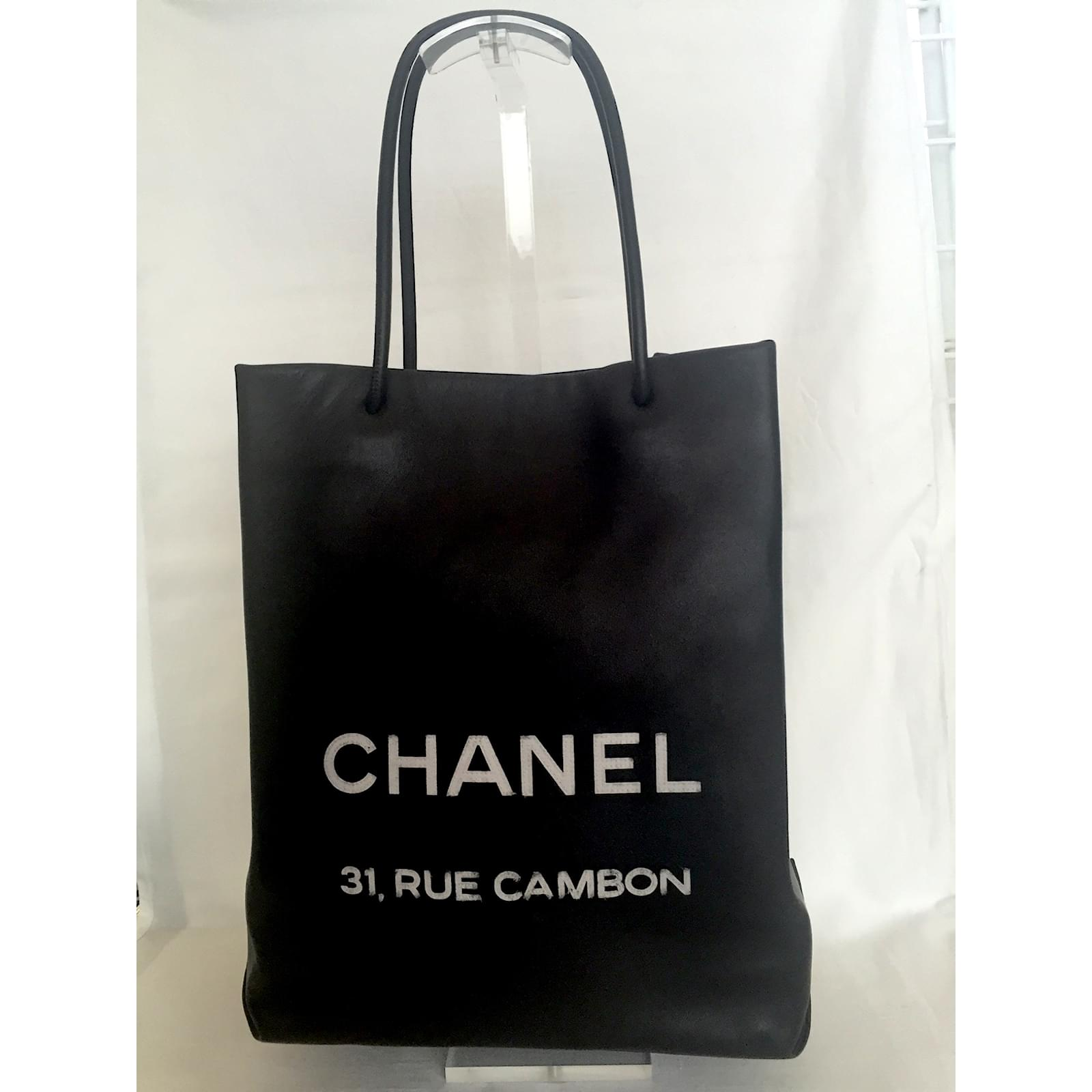 0a5c0b3c1090 ... 31 Rue Cambon bag Source · Chanel Chanel leather shopping tote Rue  Cambon Handbags Leather