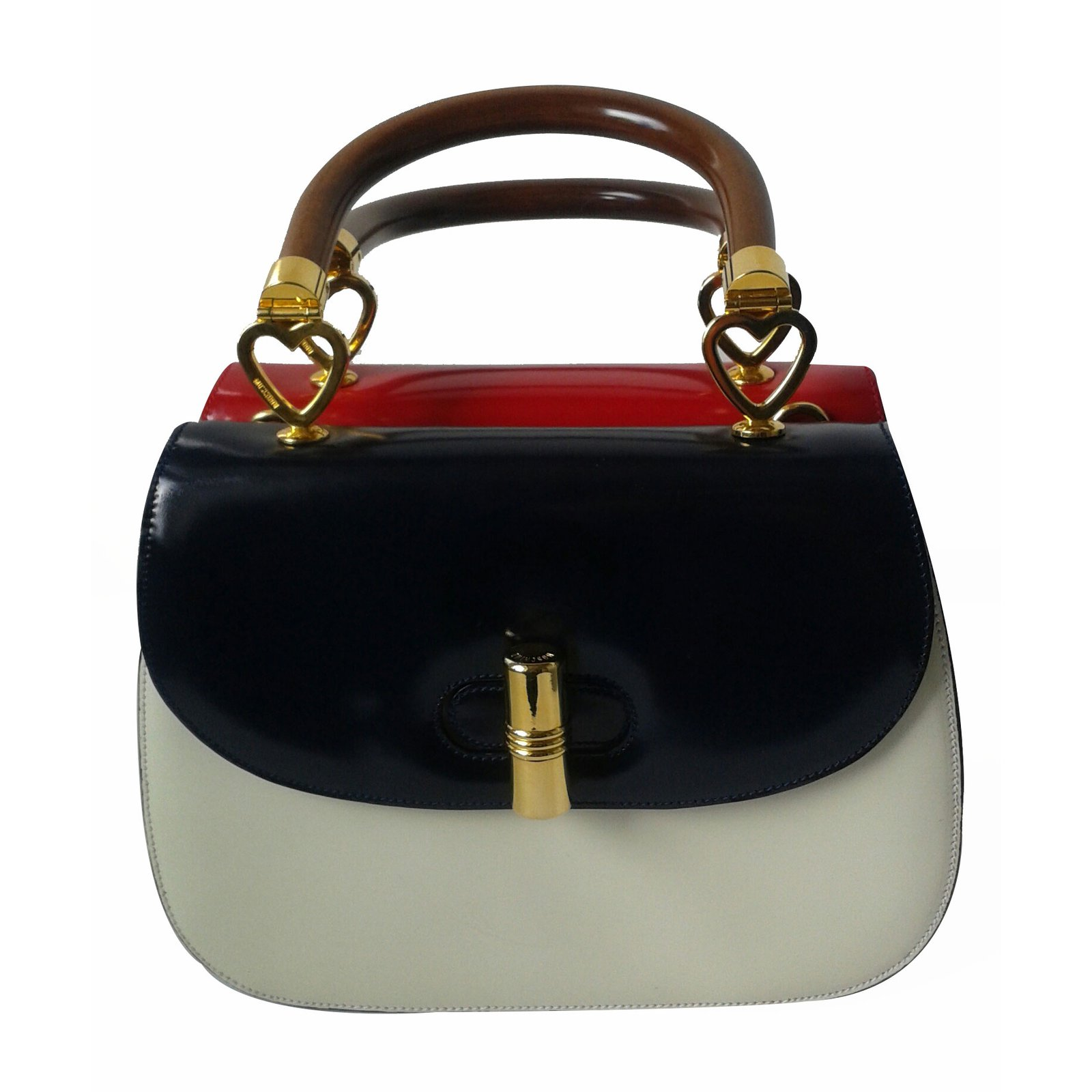 f640a25689f Moschino MOSCHINO REDWALL Handbags Patent leather Multiple colors ...