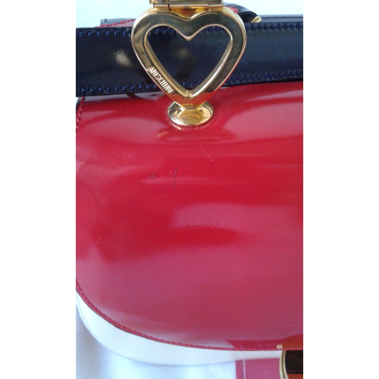 f8bd1aeb3f4 Moschino MOSCHINO REDWALL Handbags Patent leather Multiple colors ref.17561  - Joli Closet