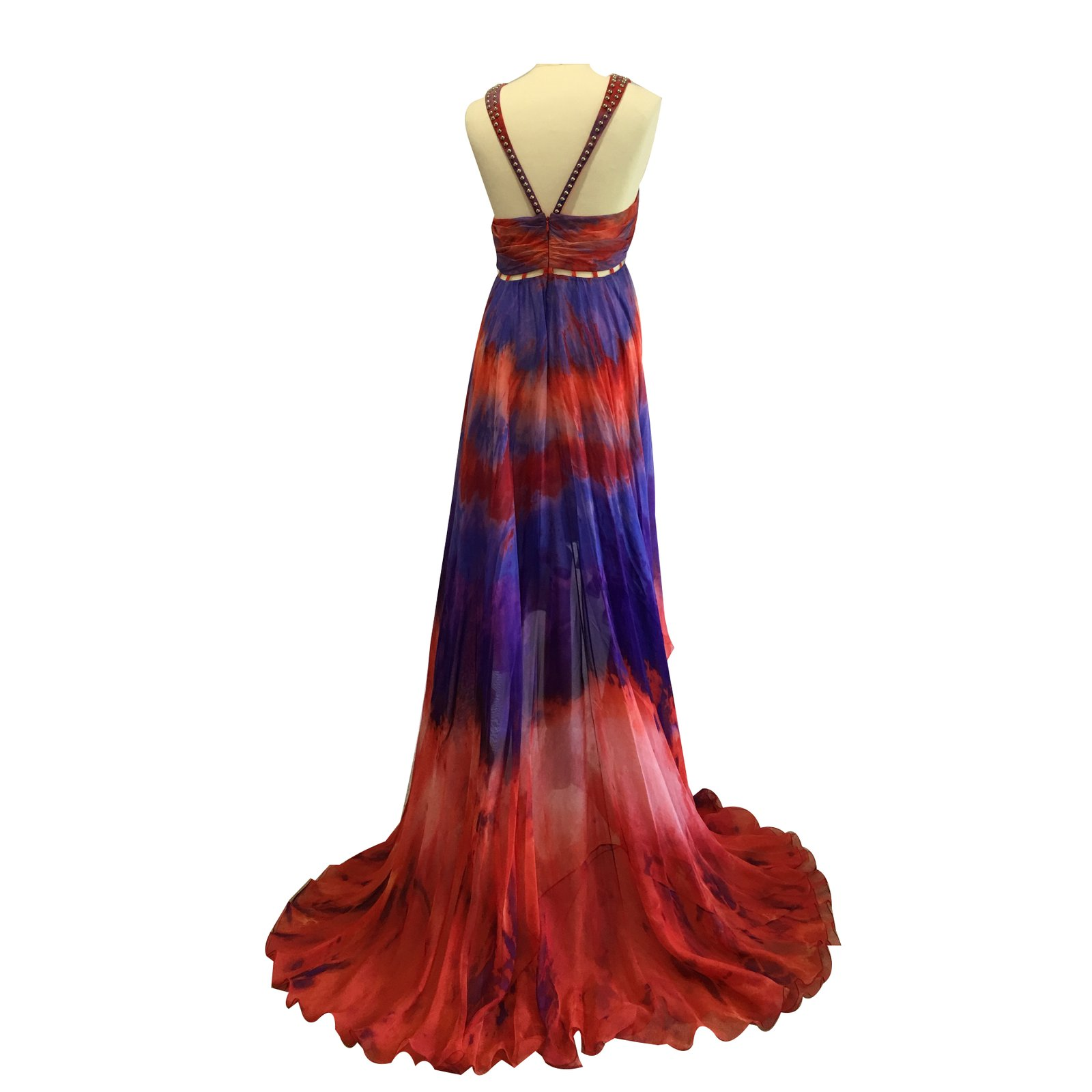 7b4a99a9af5 Emilio Pucci Runway maxi dress Dresses Silk Multiple colors ref ...