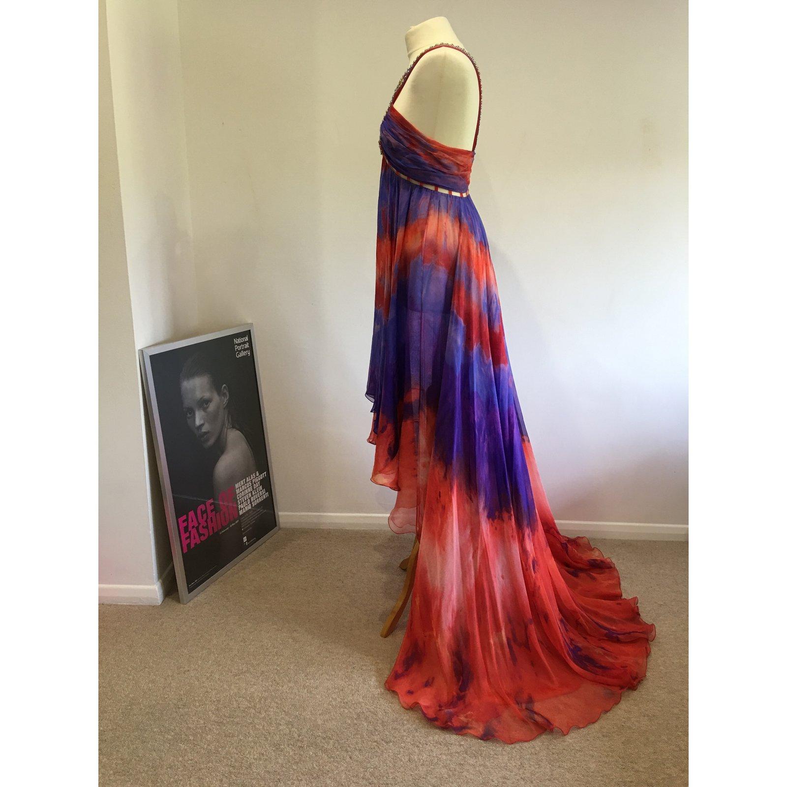ef3529e7ca1 Emilio Pucci Runway maxi dress Dresses Silk Multiple colors ref.17659 -  Joli Closet