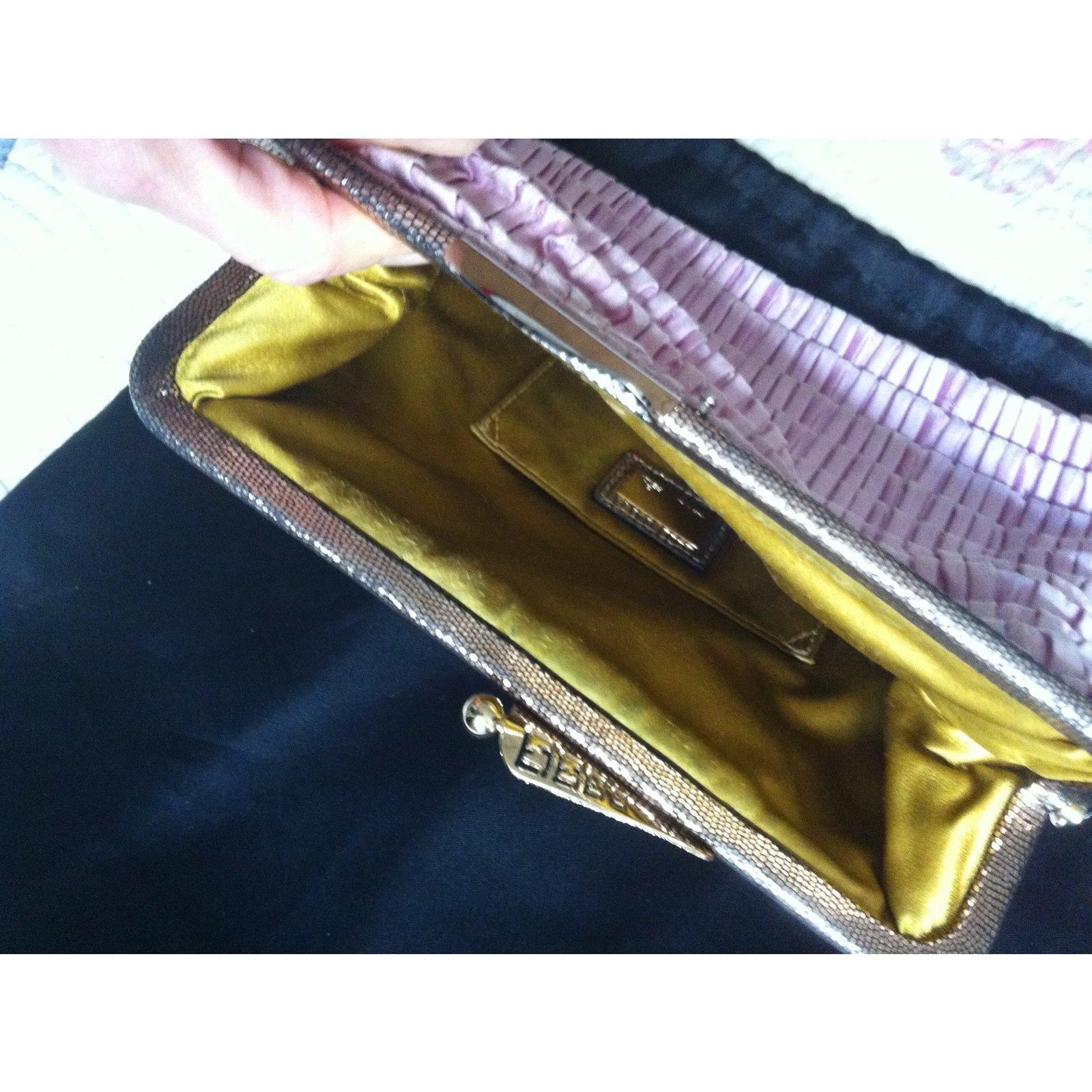 1b3933c7900d Fendi Clutch bags Clutch bags Silk Pink ref.18678 - Joli Closet