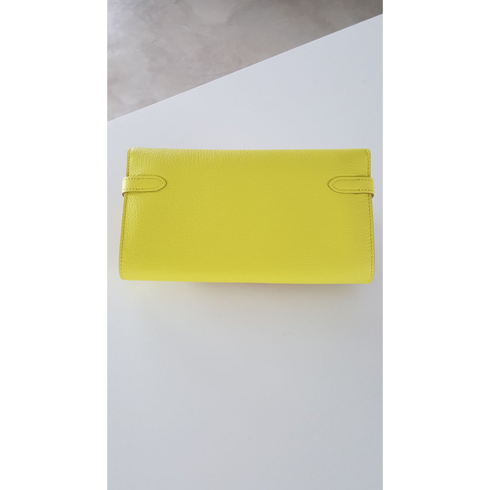 hermes kelly wallet yellow - photo #22