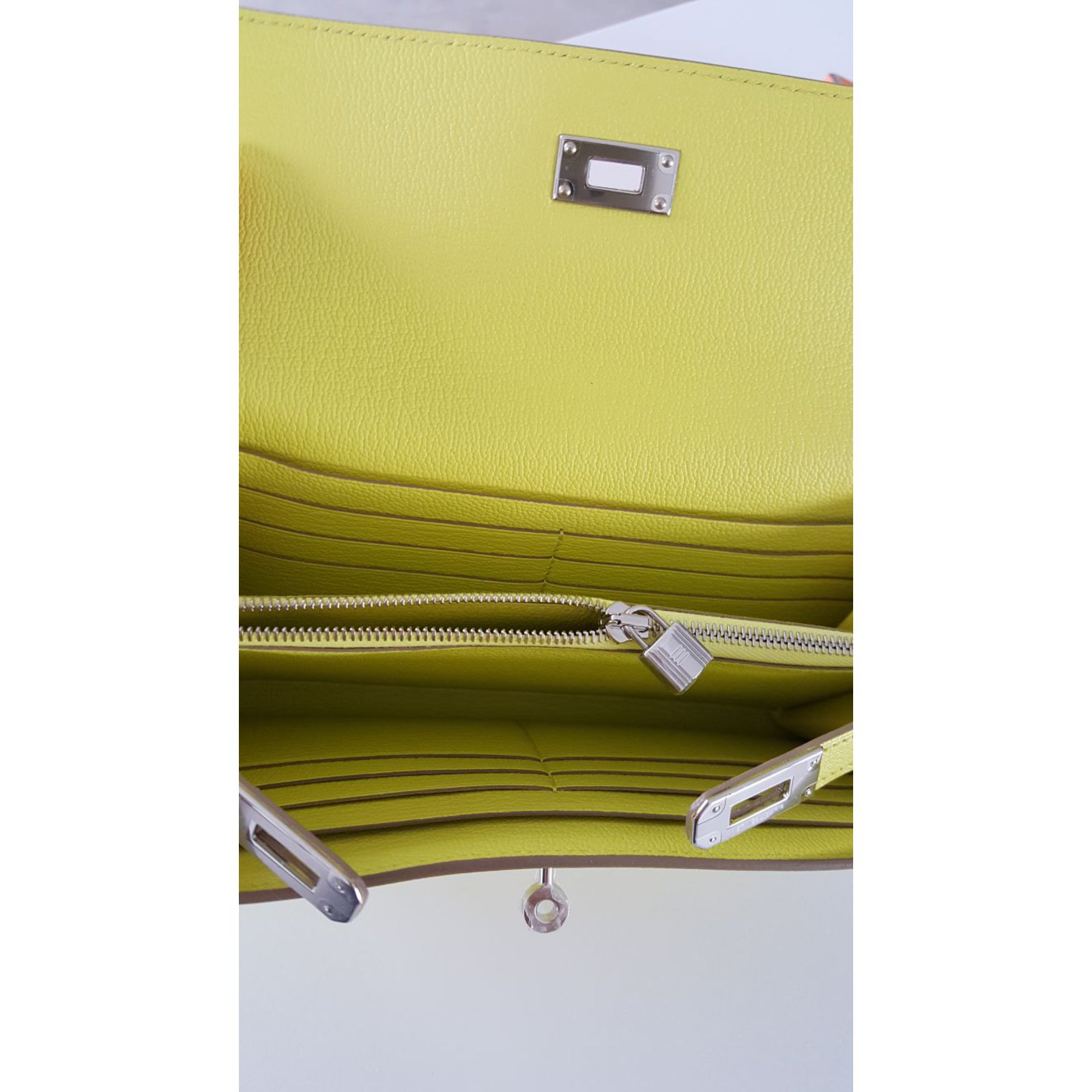 hermes kelly wallet yellow - photo #8