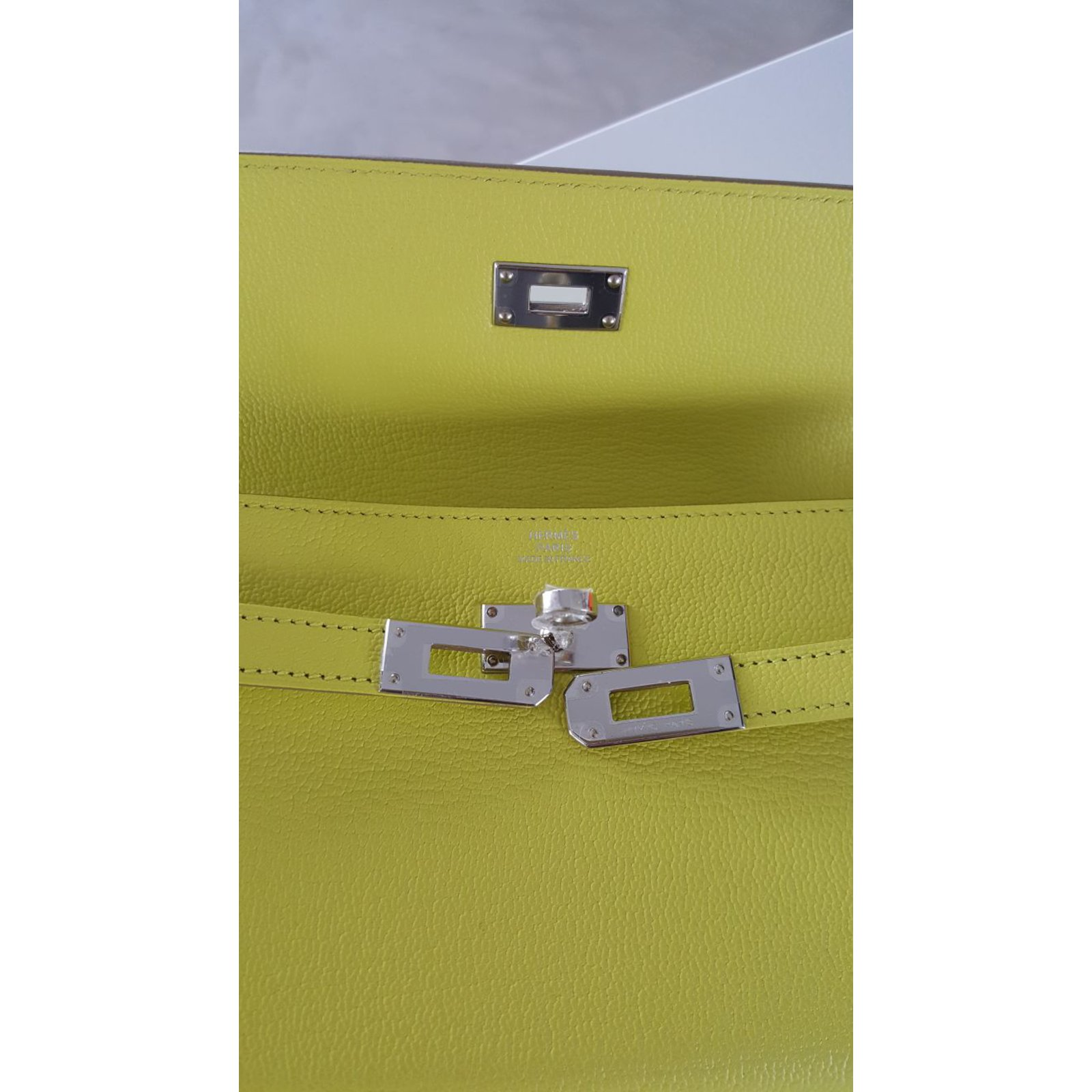 hermes kelly wallet yellow - photo #23
