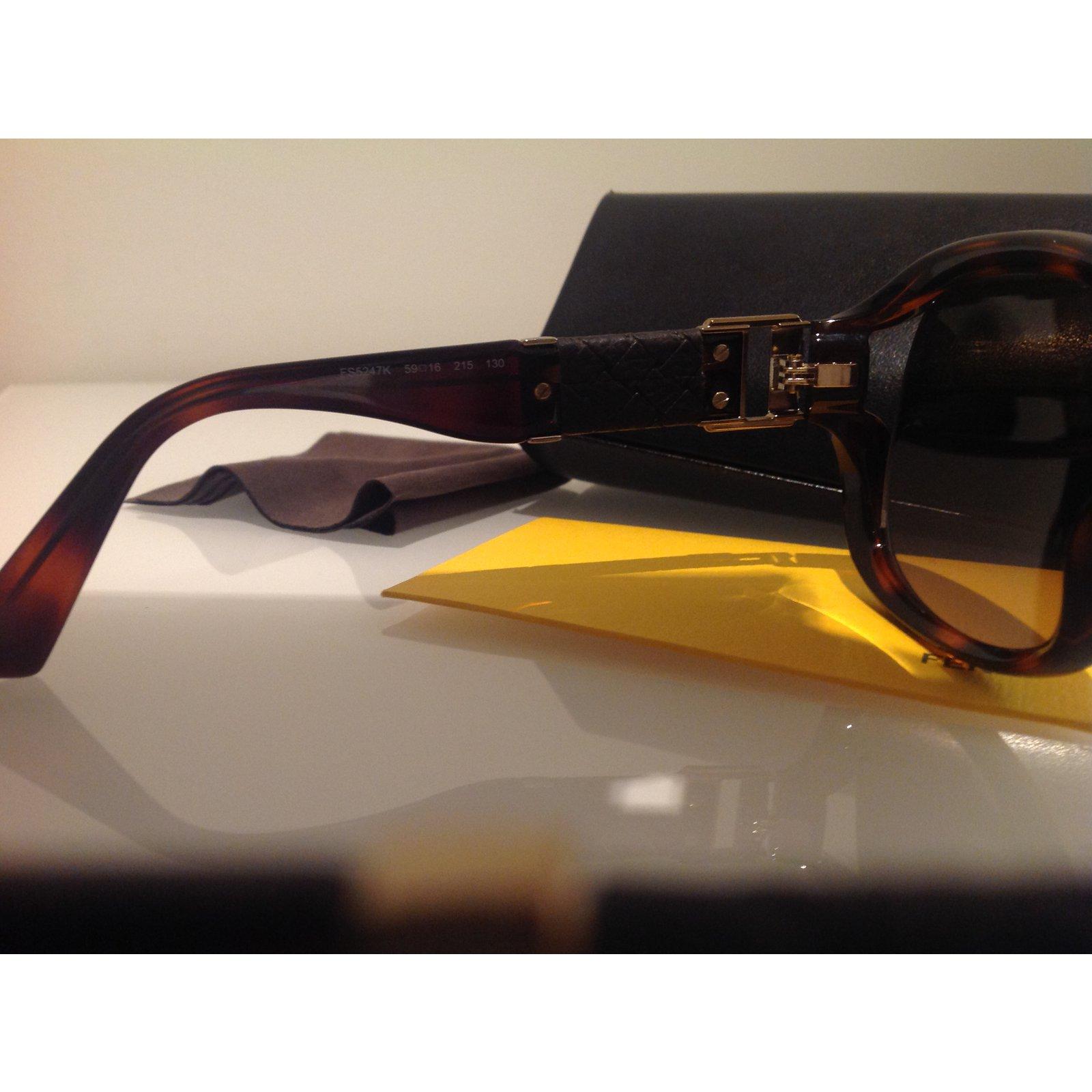 e37547f12d Facebook · Pin This. Fendi Sunglasses Sunglasses Plastic Brown ...