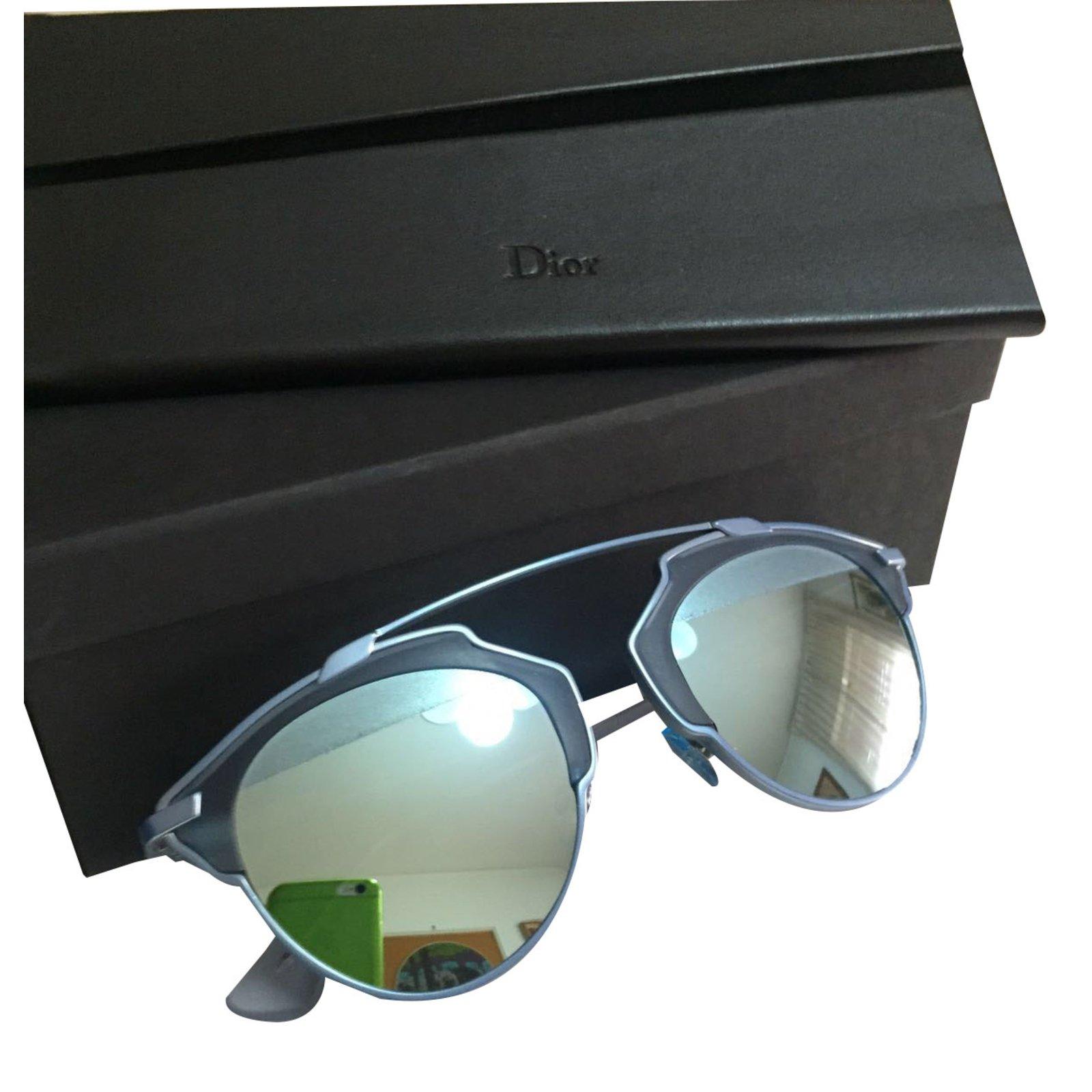 94e047bb53d6 Facebook · Pin This. Dior Sunglasses Sunglasses Metal Blue ref.19744