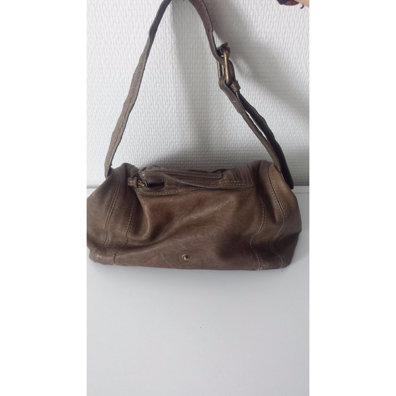 fb95301c8ddce Facebook · Pin This. Jerome Dreyfuss Handbag Handbags Leather Taupe ref.21928.  Jerome Dreyfuss Handbag Handbags Leather Taupe ref.21928
