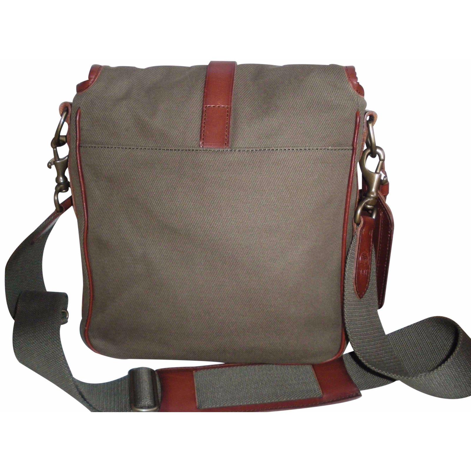 c7770aba3410 Polo Ralph Lauren Handbag Handbags Cloth Khaki ref.22309 - Joli Closet