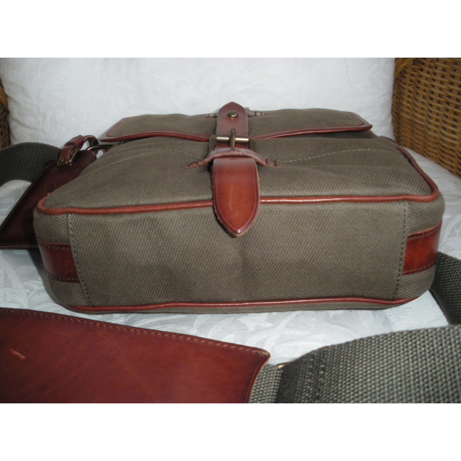 40c69134ba71 Facebook · Pin This. Polo Ralph Lauren Handbag Handbags Cloth Khaki ref. 22309