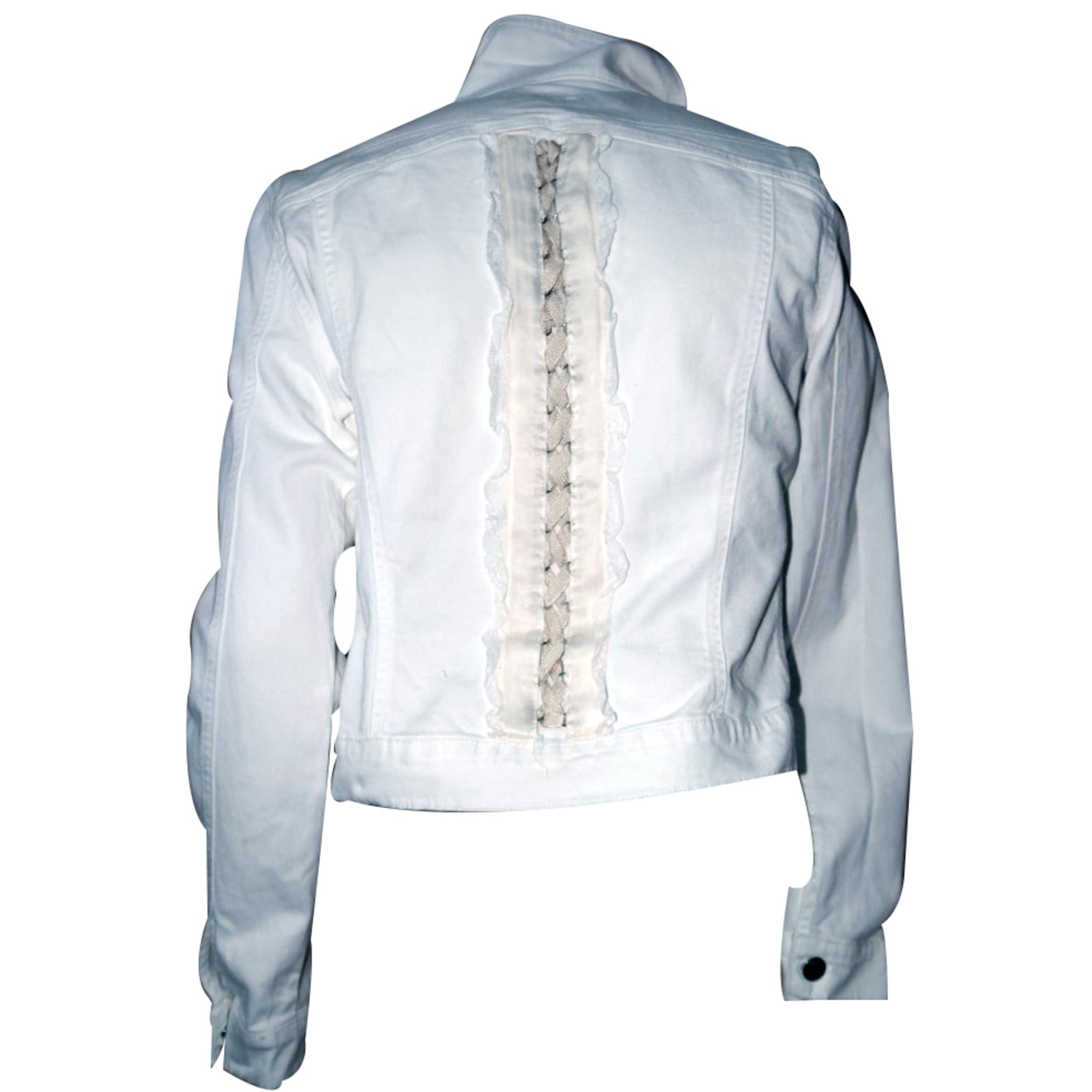 Ref Blanc Closet Veste Jean Joli Vestes 22349 Blumarine AIqaOO