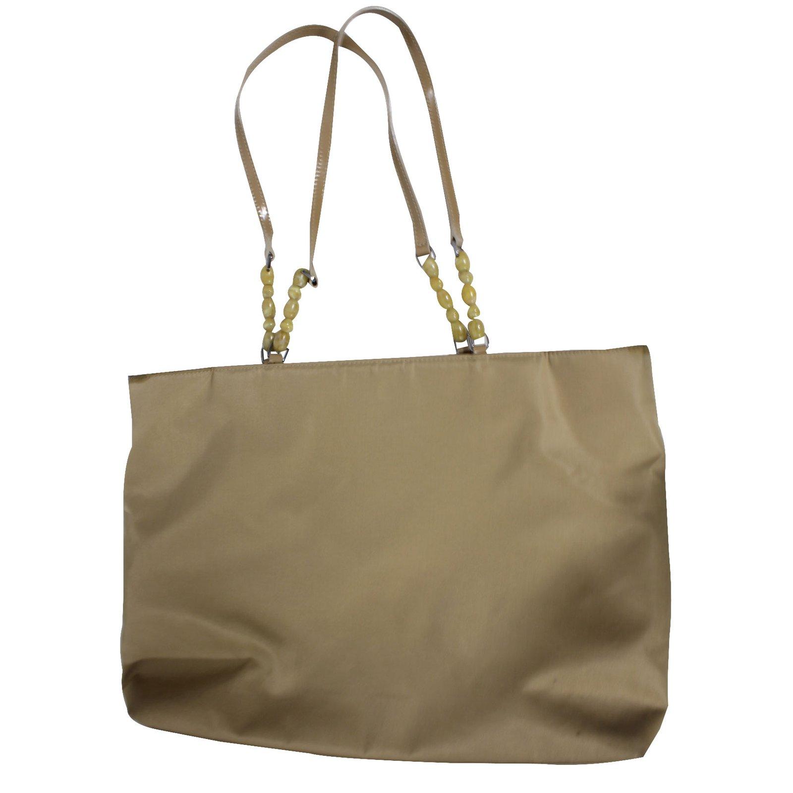 60554eadd44 Christian Dior Tote bag Totes Cloth Beige ref.22524 - Joli Closet