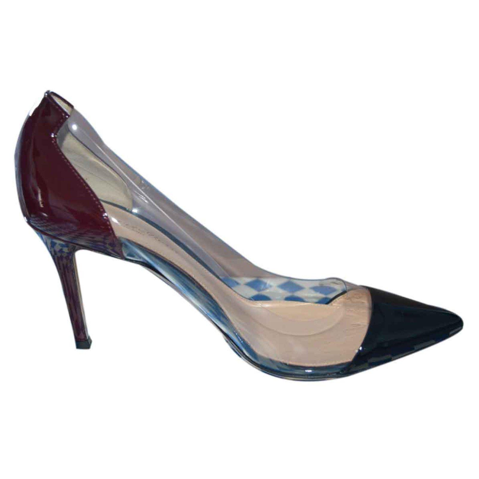 49b57c8919 Gianvito Rossi Plexi pumps hell 8 cm Heels Varnish Other ref.23471 - Joli  Closet