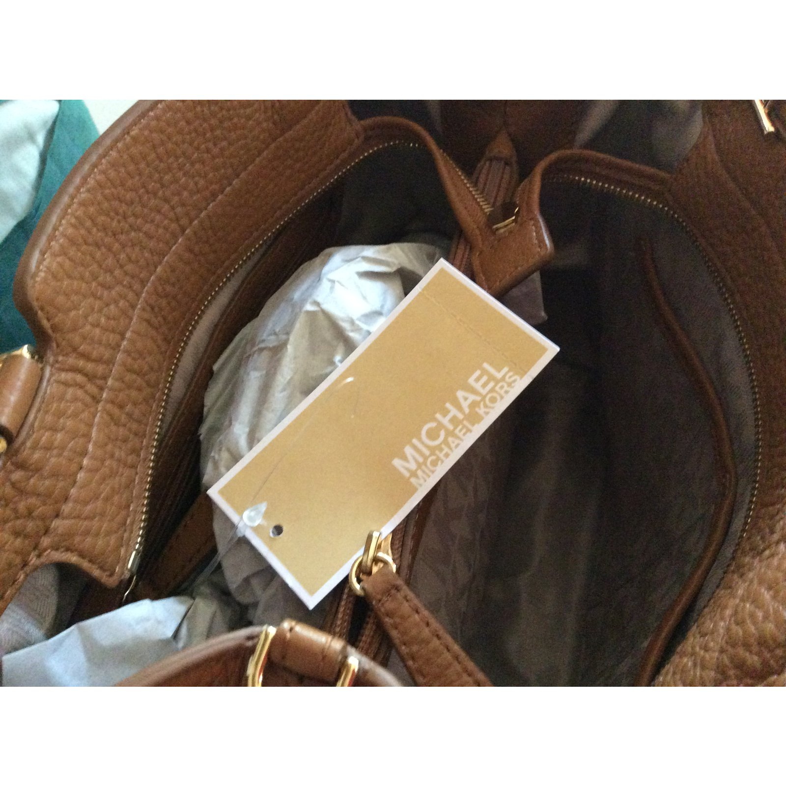 2d55c84ff016 Michael Kors Handbag Handbags Leather Caramel ref.24968 - Joli Closet