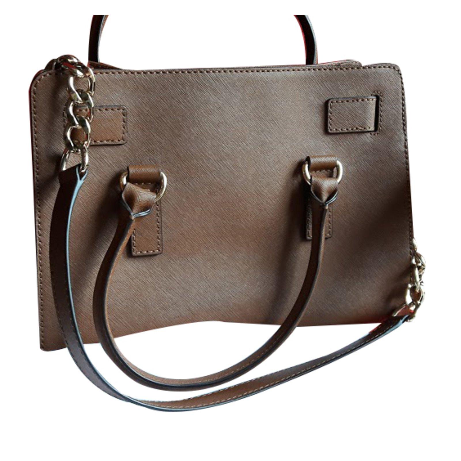 4993232afc8a Michael Kors Handbag Handbags Leather Caramel ref.26307 - Joli Closet