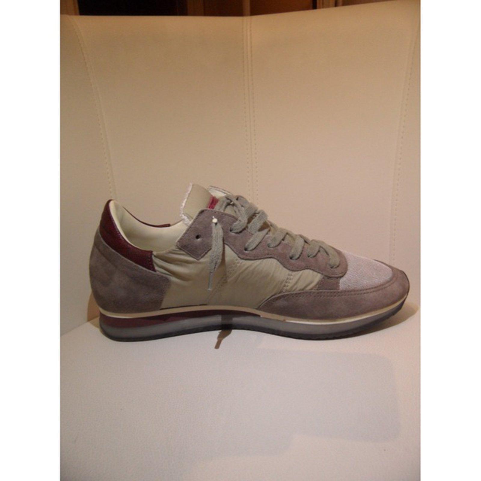 info for 4292e 2d921 Philippe Model Sneakers Sneakers Cloth Multiple colors ref.26675 - Joli  Closet
