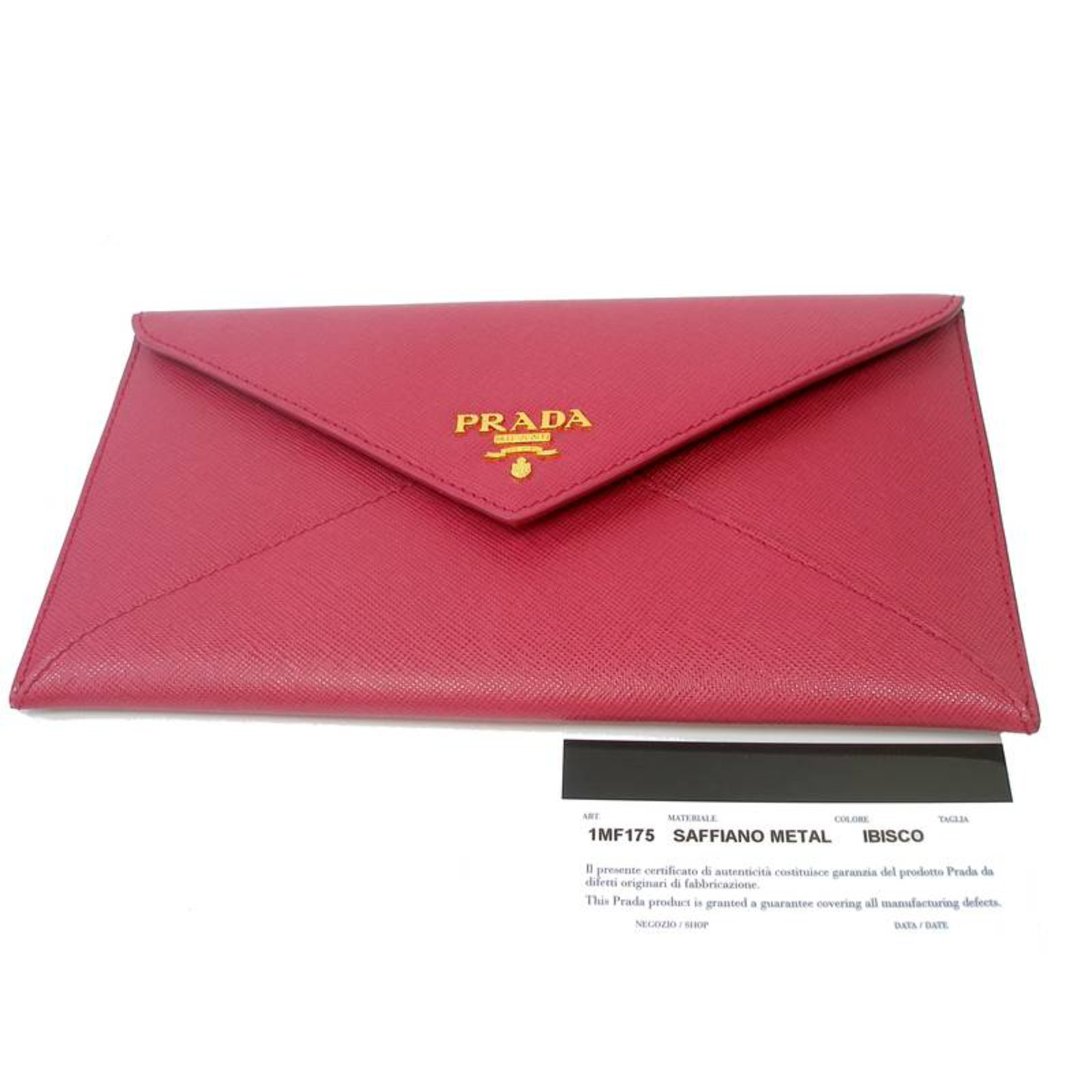 f27022f0651c08 ... usa prada pouch clutch purses wallets cases leather pink ref.26968 joli  closet 1e189 bbb60