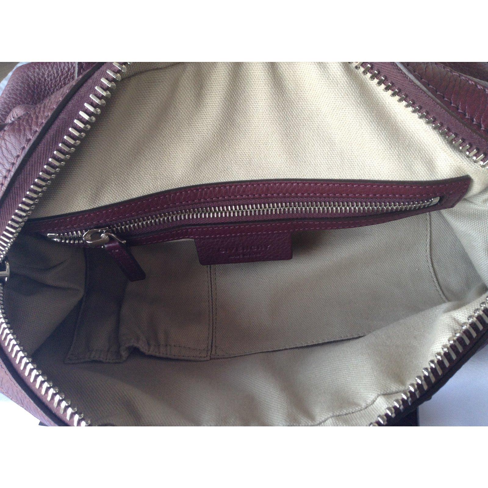 5a12ddb6b7 Facebook · Pin This. Givenchy Handbag Handbags Leather Dark red ref.27047