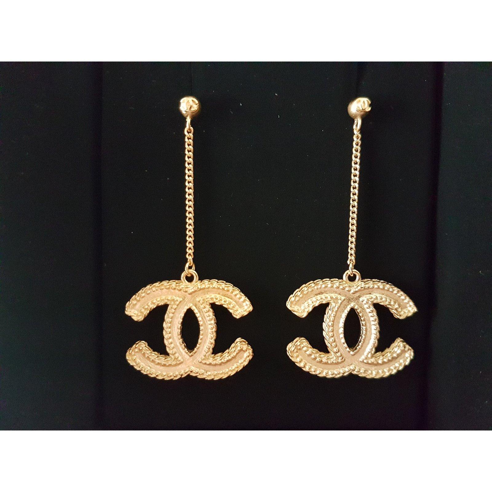 chanel earrings 2017 collection unworn earrings other