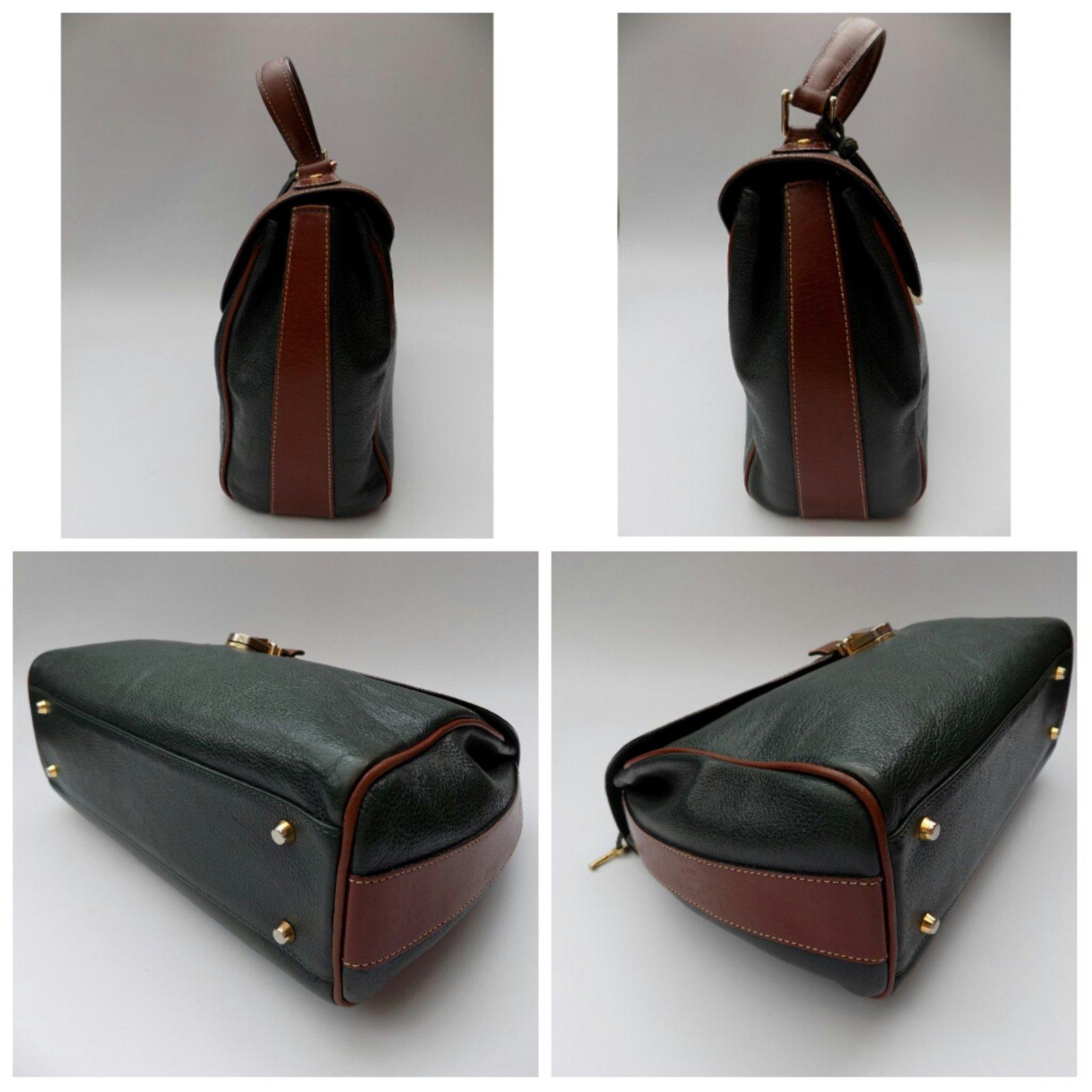 40cd4c7acf Bally Handbag Handbags Leather Brown
