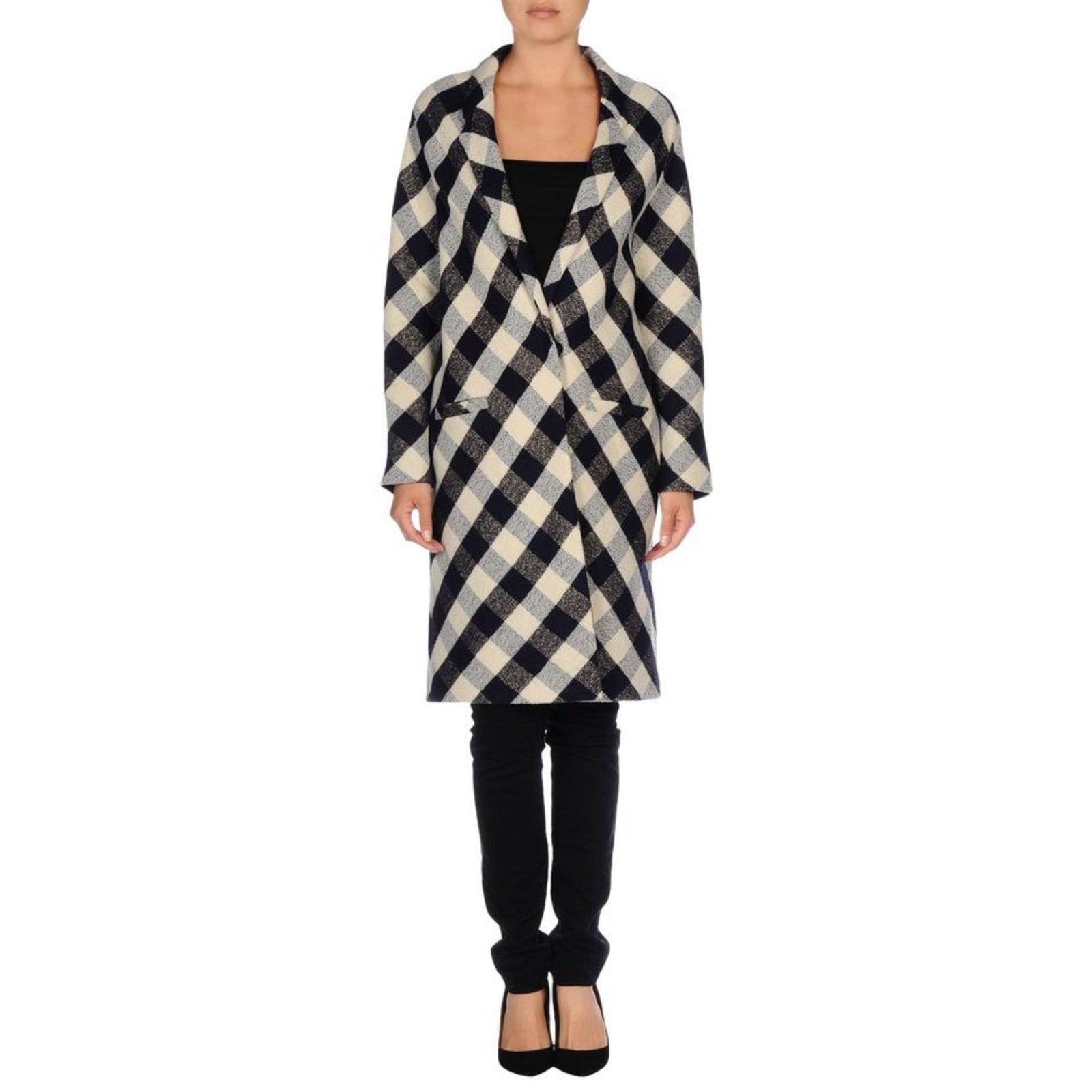 manteaux forte forte manteau laine lin autre joli closet. Black Bedroom Furniture Sets. Home Design Ideas