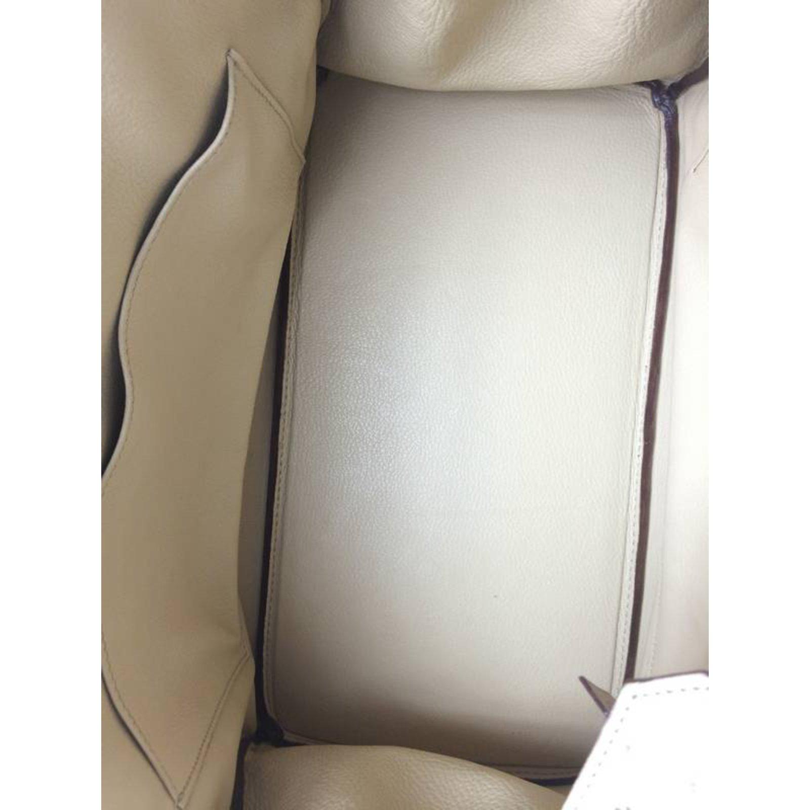 58c9534ce4 Sacs à main Hermès Birkin 35 Autruche Parchemin Cuirs exotiques Beige  ref.22292 - Joli Closet