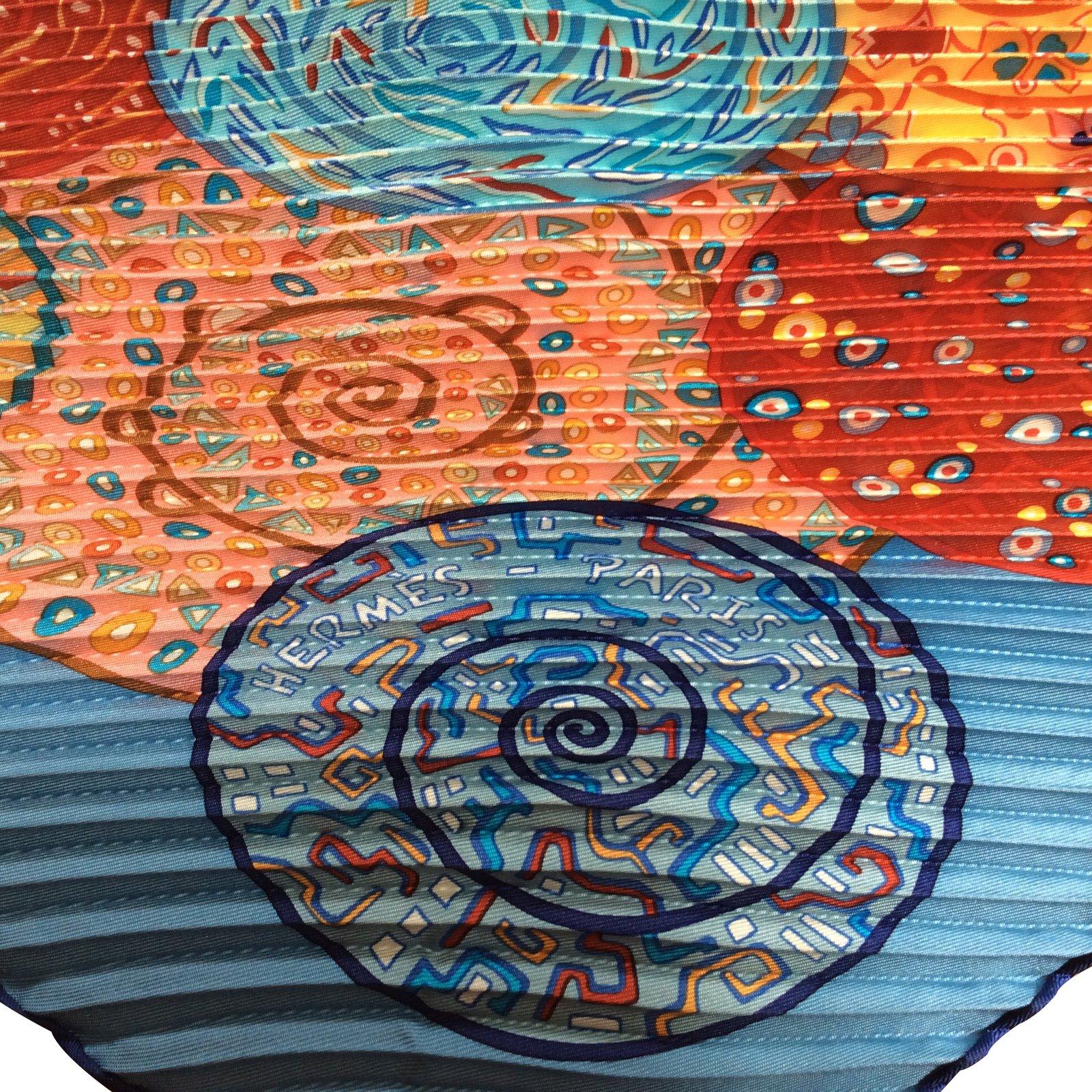 5556e8dec2ca Foulards Hermès Rêves d escargots Soie Multicolore ref.29357 - Joli Closet
