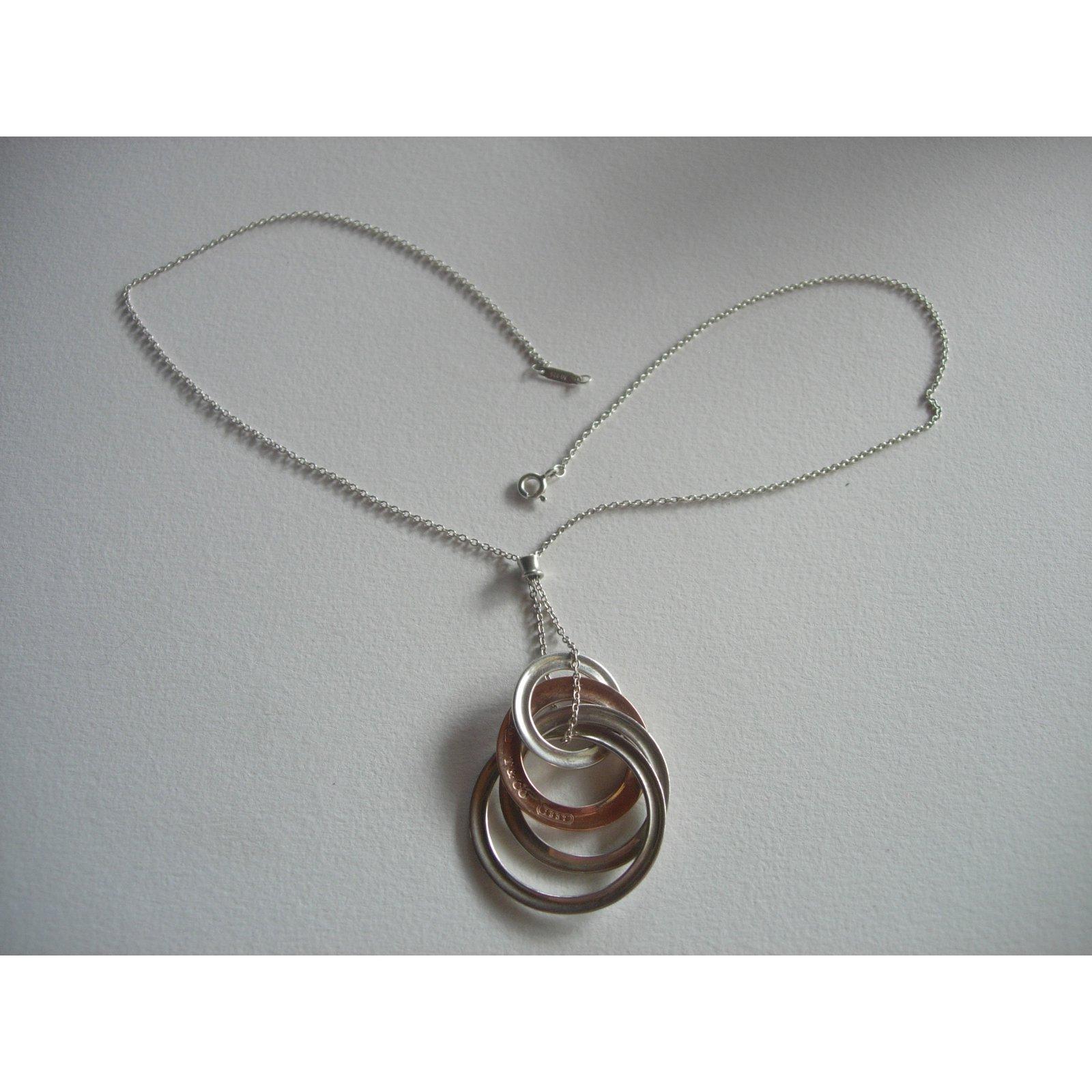 6ddf7a4ec Tiffany & Co Pendant necklace Pendant necklaces Silver Silvery ref.29490 -  Joli Closet