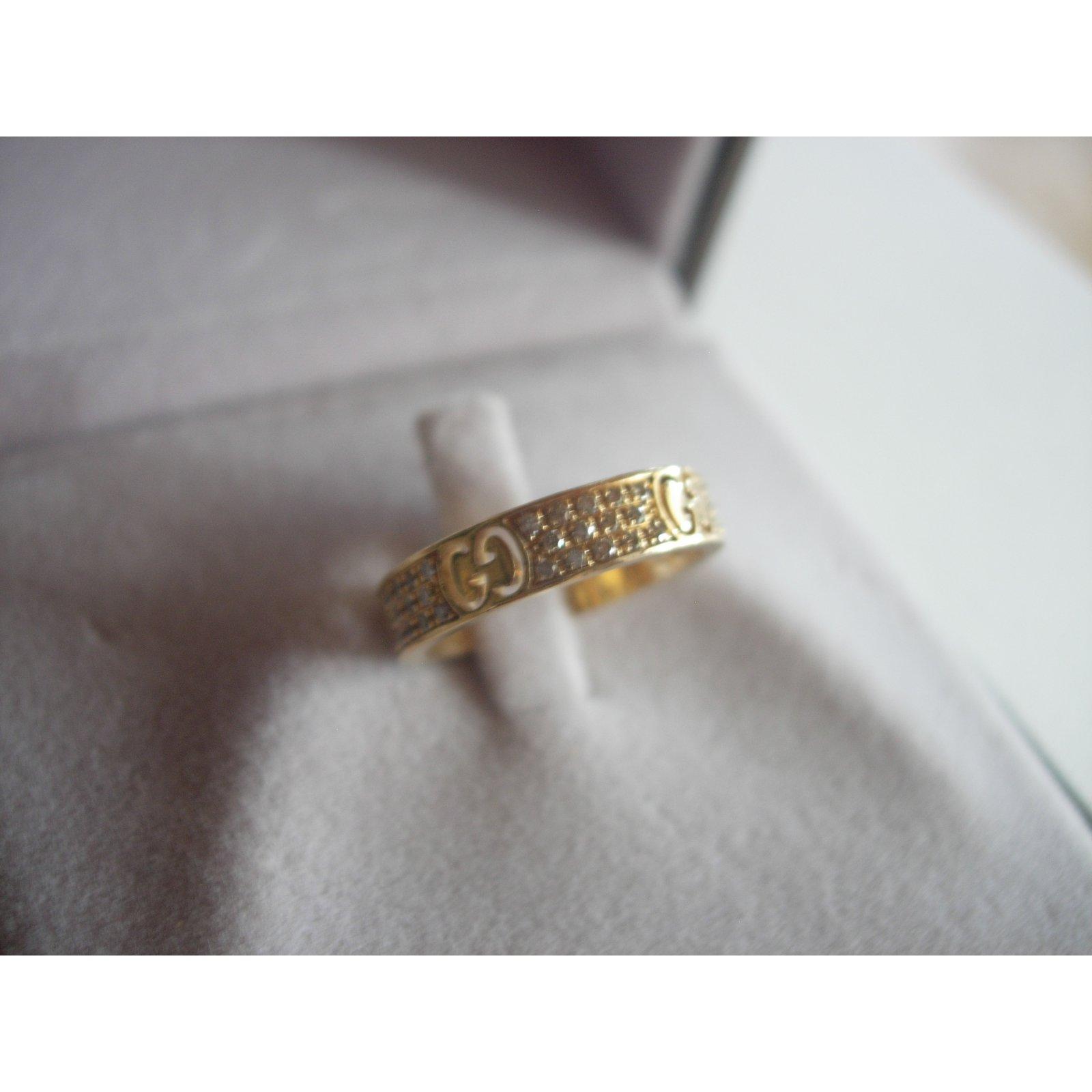 071bb4752bcac0 Gucci Ring Rings Yellow gold Golden ref.29530 - Joli Closet
