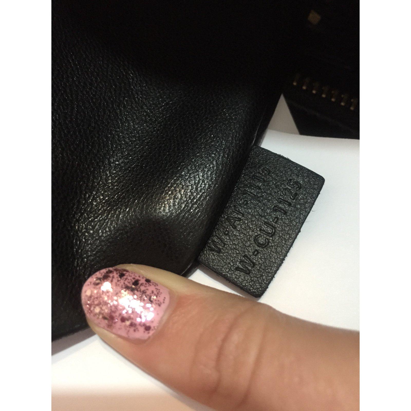 4620f36646 Céline Micro Luggage pony style Handbags Leather Black ref.30049 - Joli  Closet