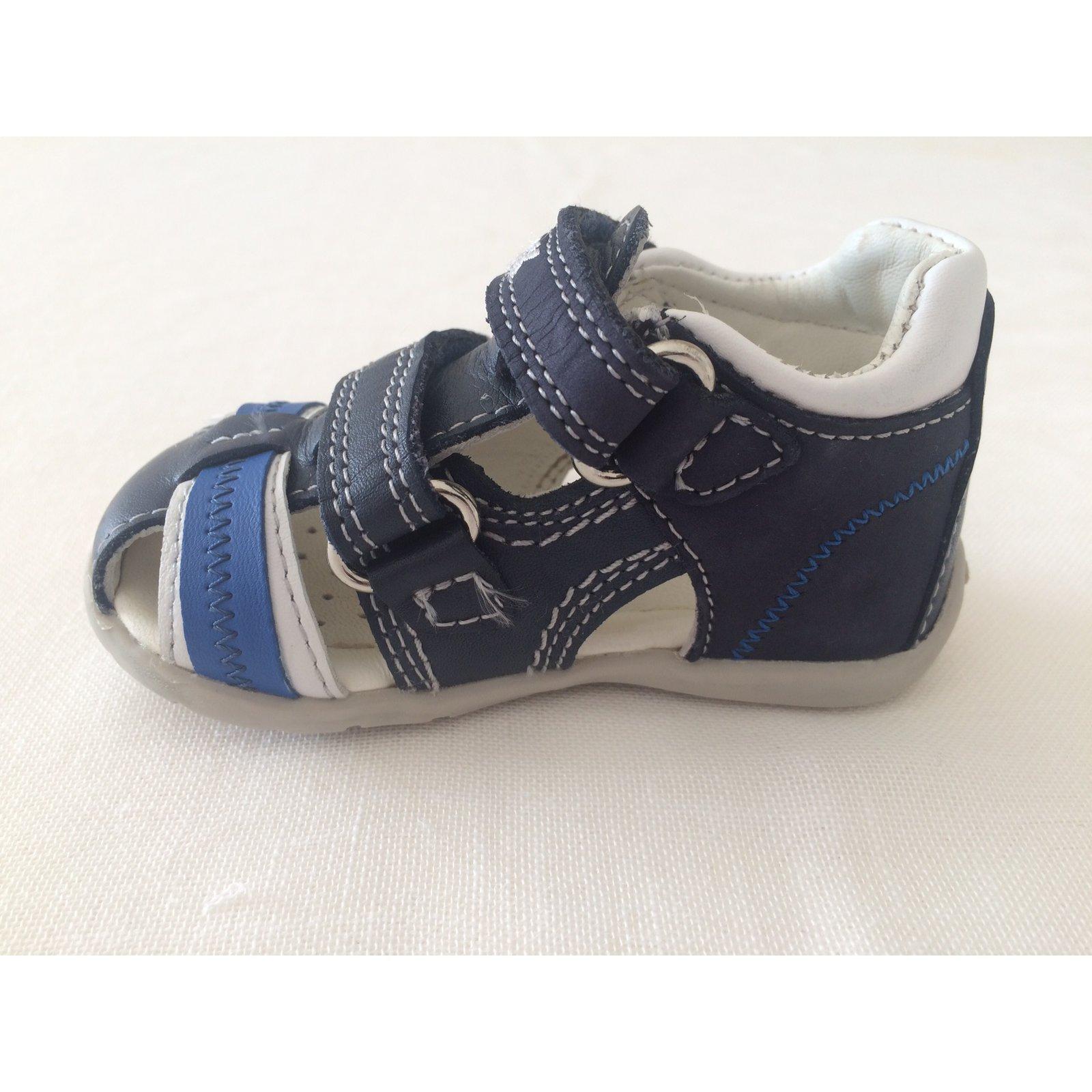 30055 Ref Closet Tclfk1u3j5 Joli Sandales Geox Enfant Cuir Bleu LSzqpjUGMV