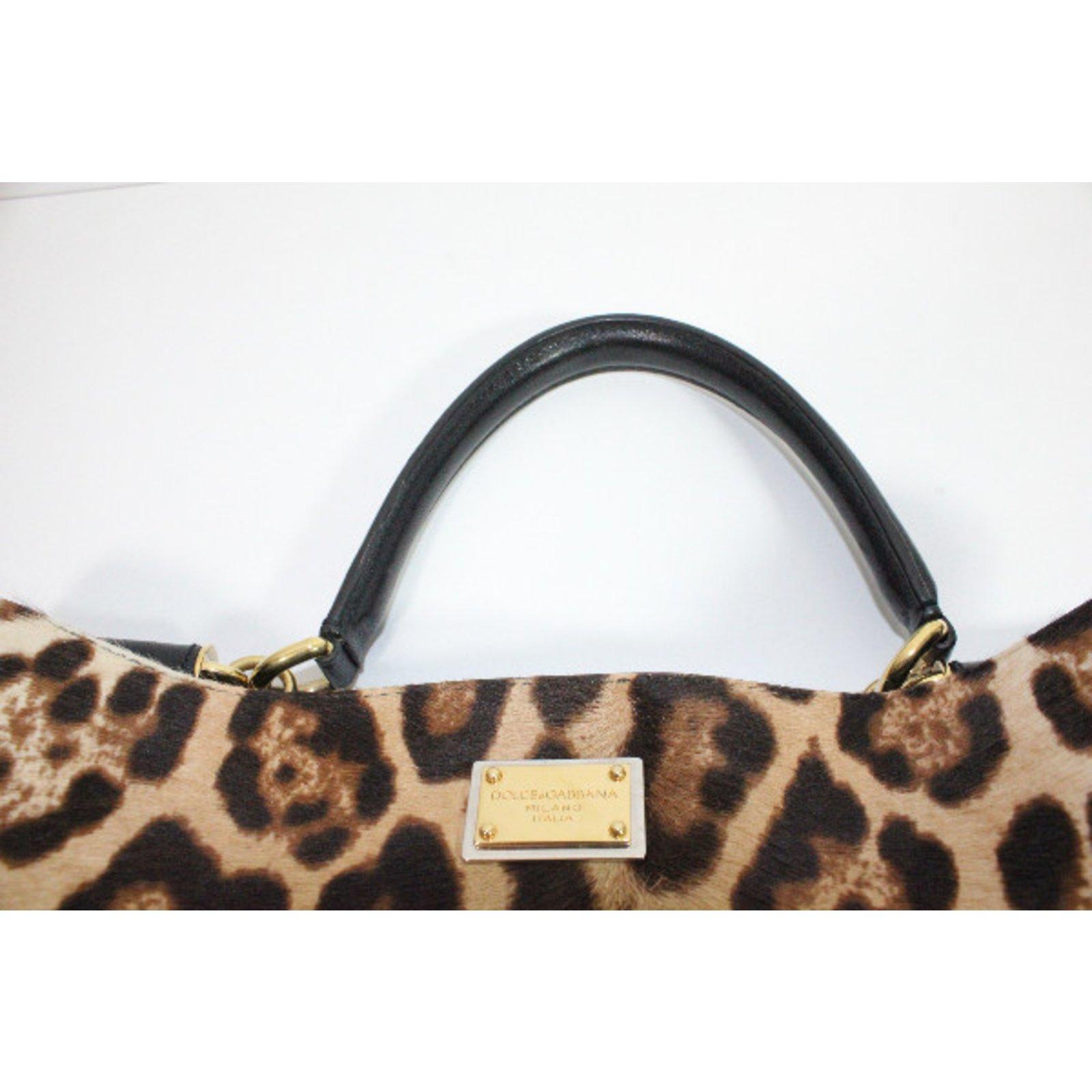 f9a59e986f Facebook · Pin This. Dolce   Gabbana Handbag Handbags Other Leopard print  ref.30295