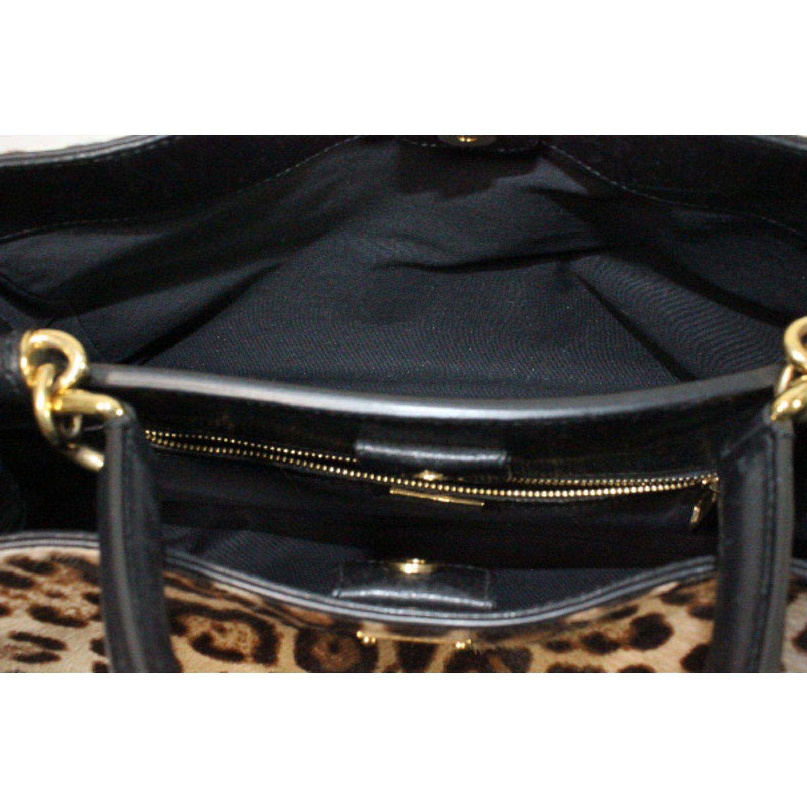 384fa89680 Dolce   Gabbana Handbag Handbags Other Leopard print ref.30295 - Joli Closet