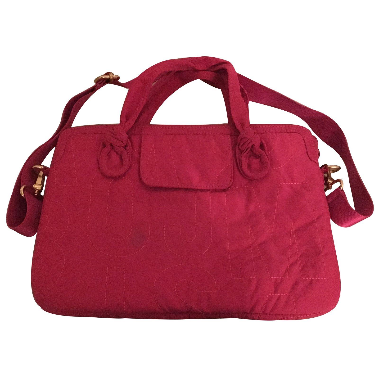 f2e75c2f4a Marc by Marc Jacobs Travel bag Travel bag Cloth Pink ref.30972 - Joli Closet